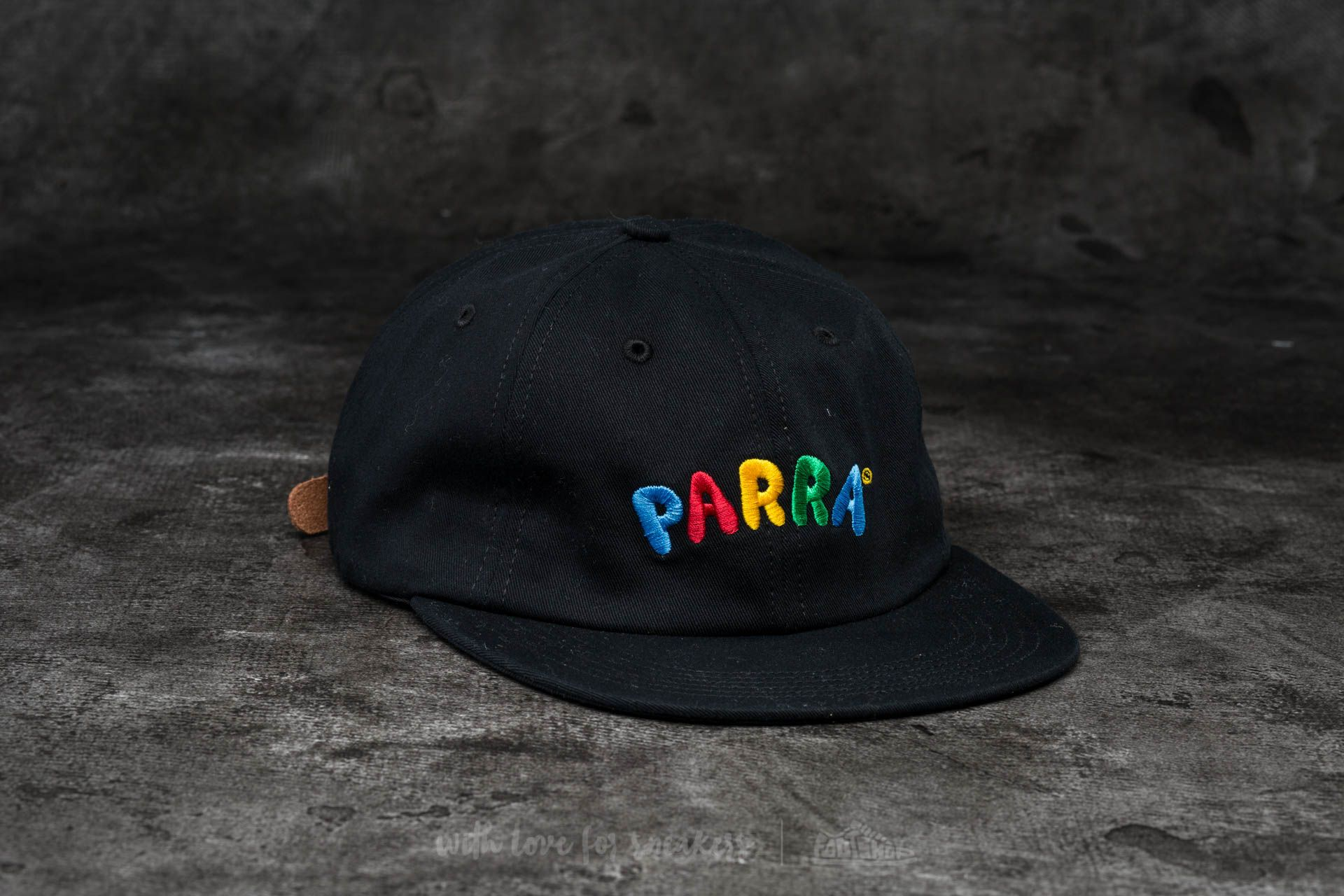by Parra Toy Logo 6 Panel Hat Black - 13697