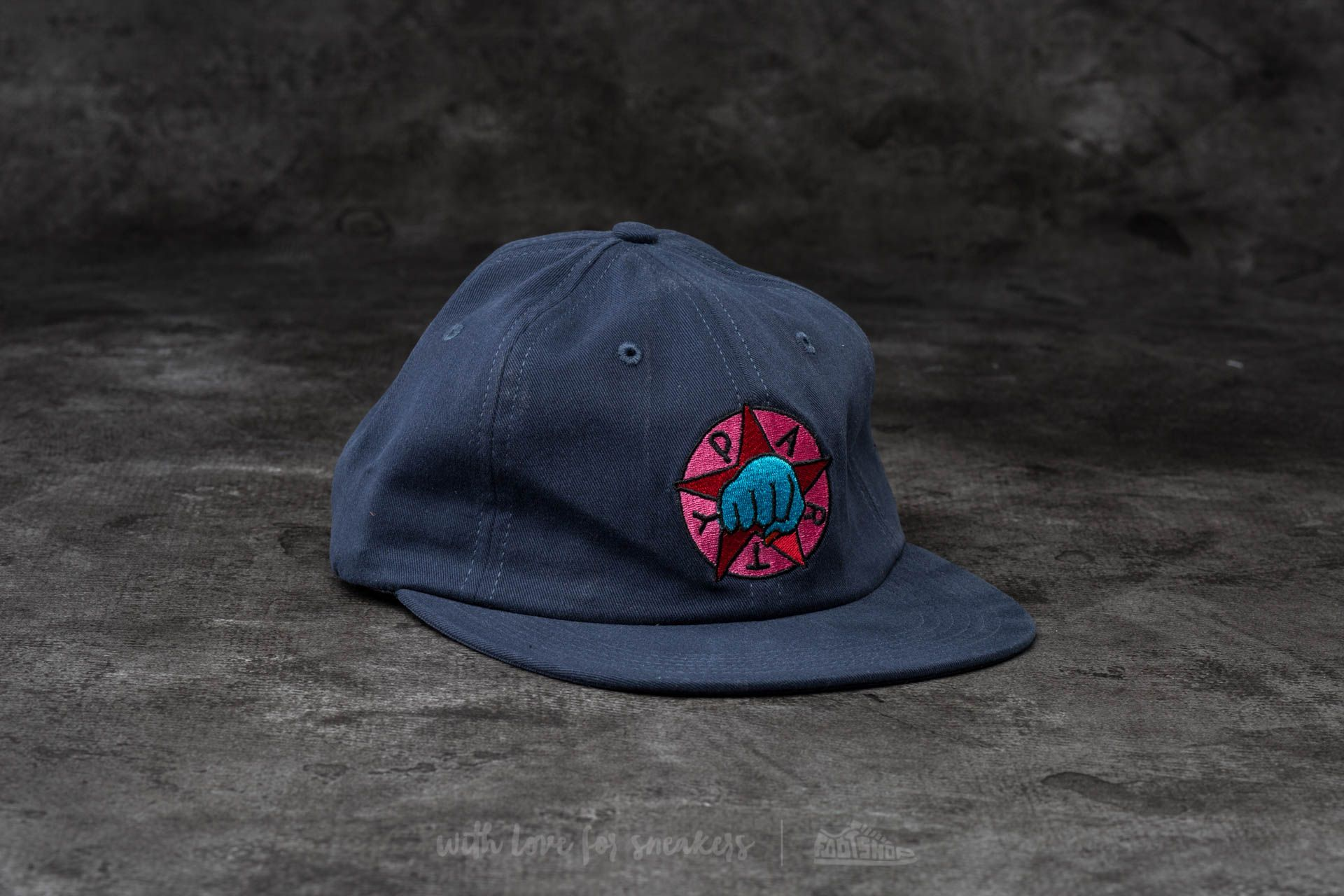 by Parra Party 6 Panel Hat Navy Blue - 13696