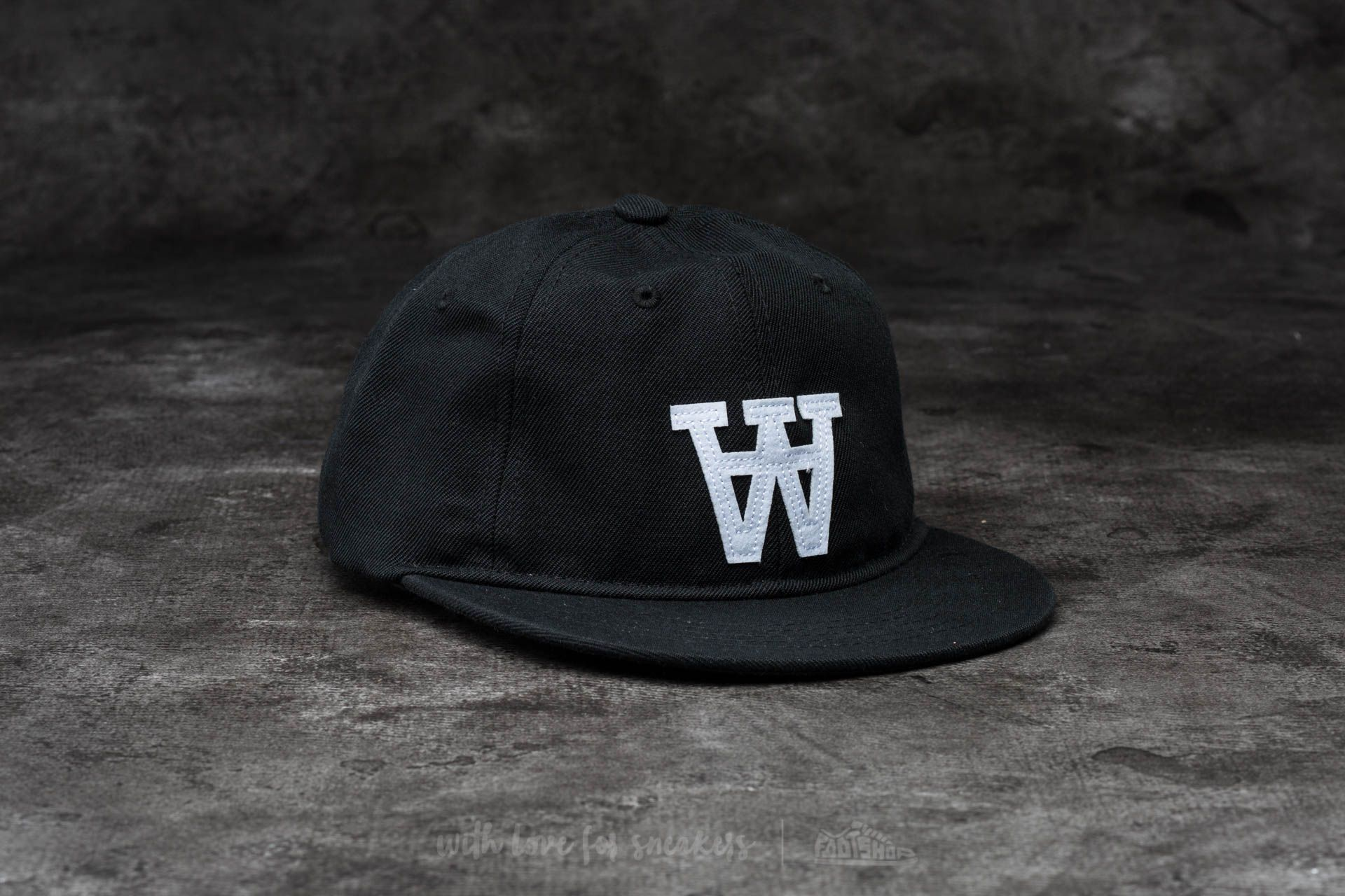 WOOD WOOD Baseball Cap Black - 13705