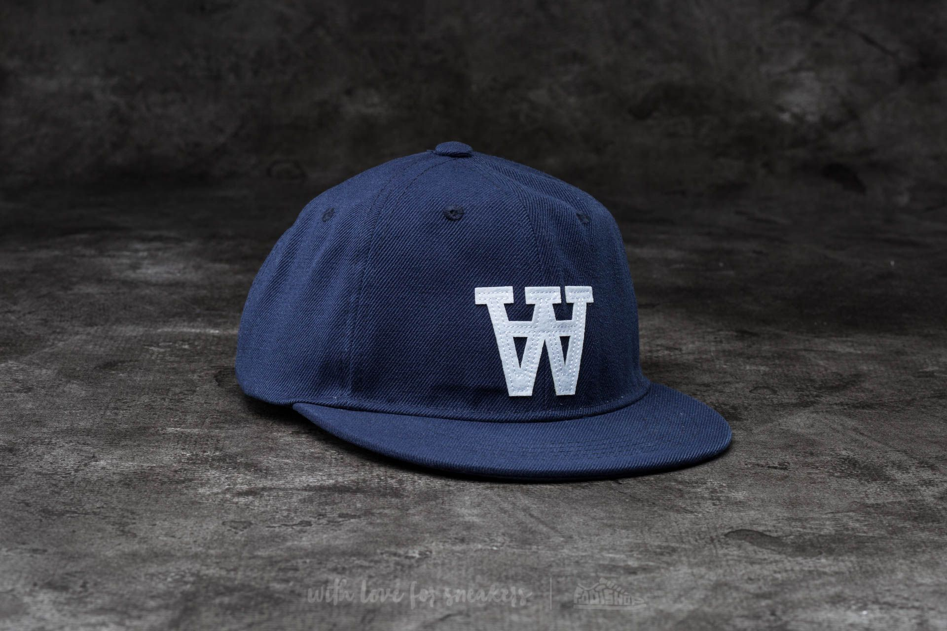 WOOD Baseball Cap Estate Blue - 13706