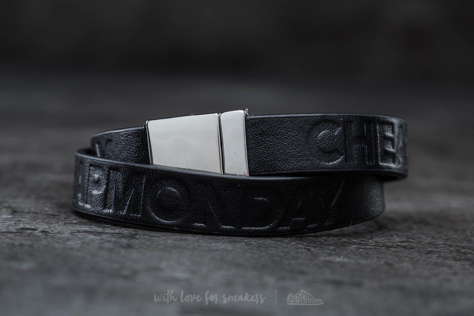 Cheap Monday Mad Skull Bracelet Black - 13414