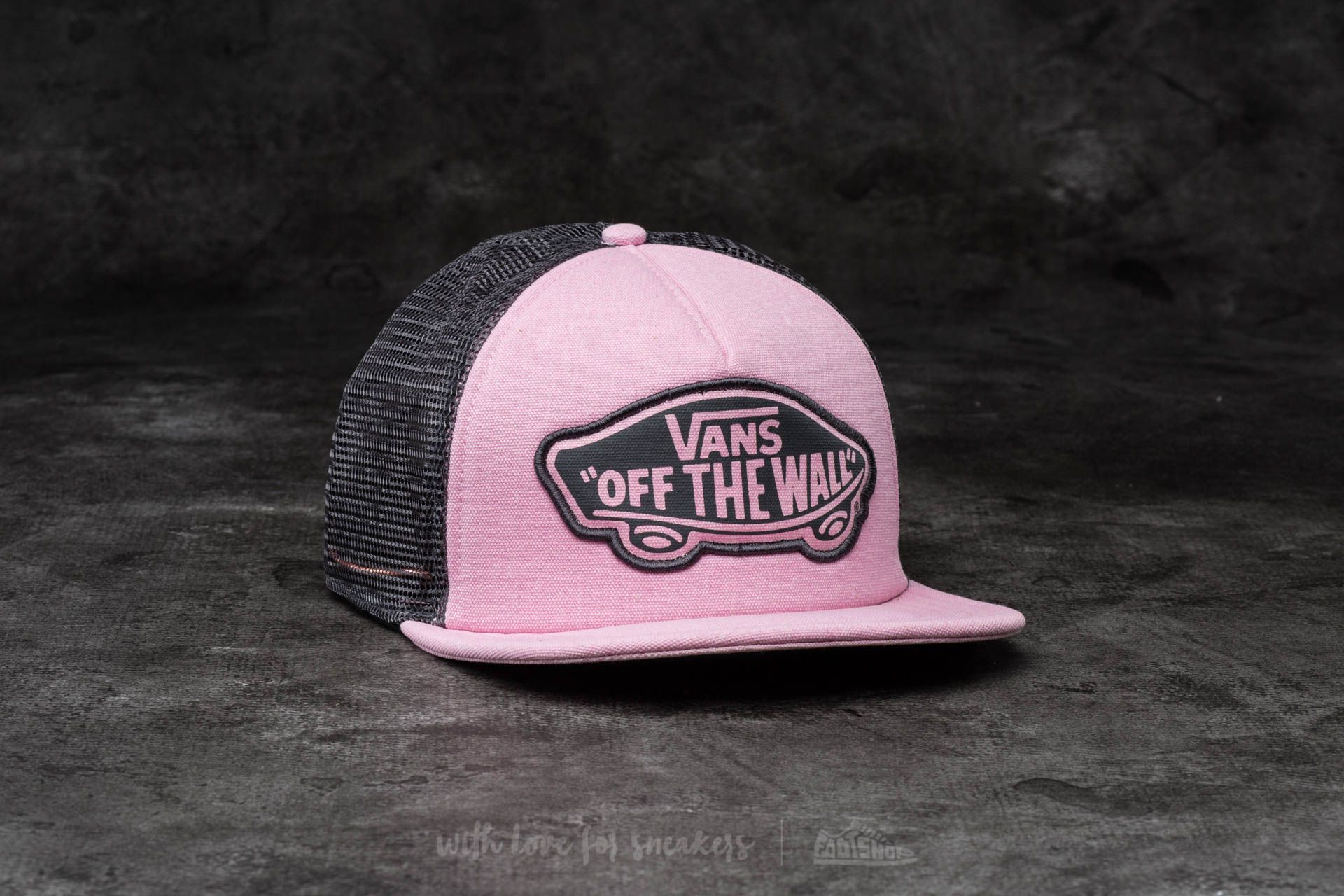 Vans Beach Girl Trucker Pink Lady-Phantom - 13562