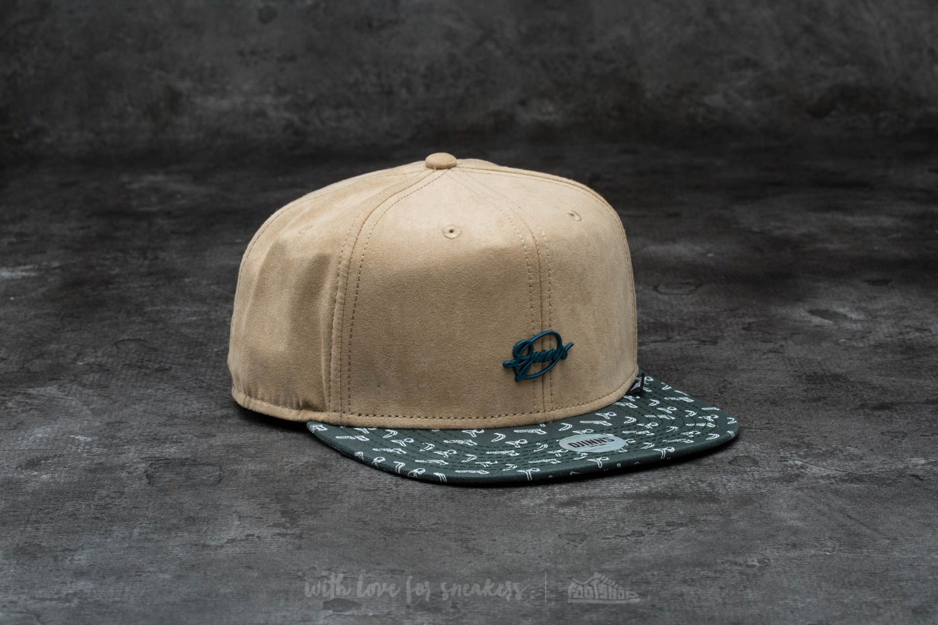 Djinn's 6 Panel Differently Snapback Nature - 13991