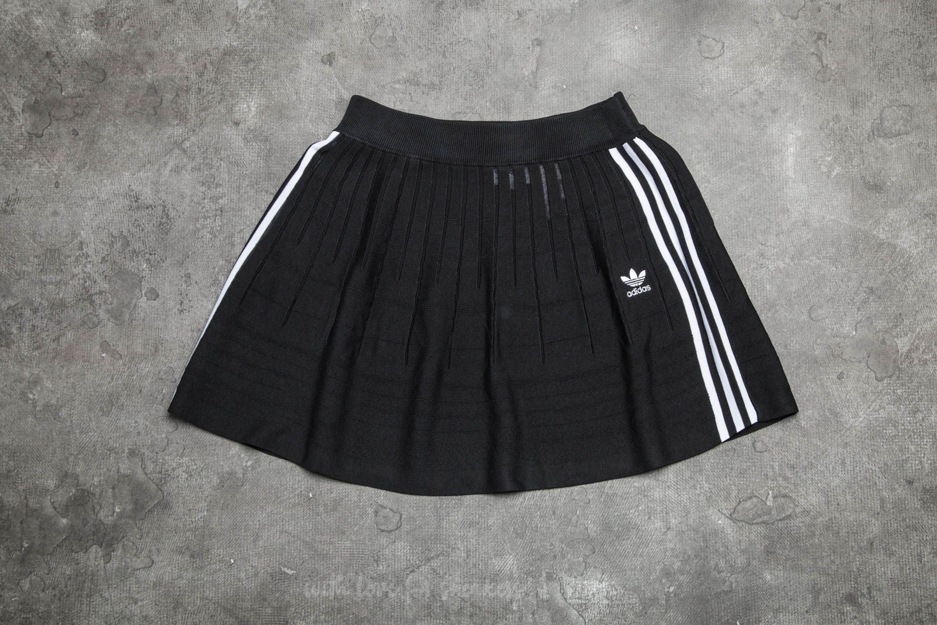 adidas 3 Stripes Skirt Black - 13995