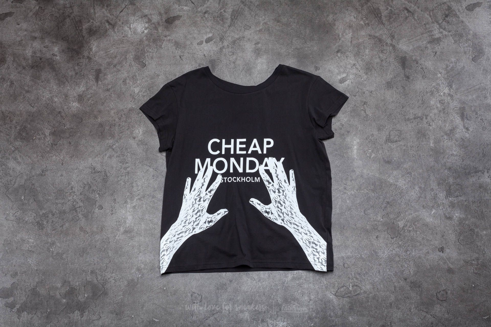Cheap Monday Hands On Have Tee Black - 14085