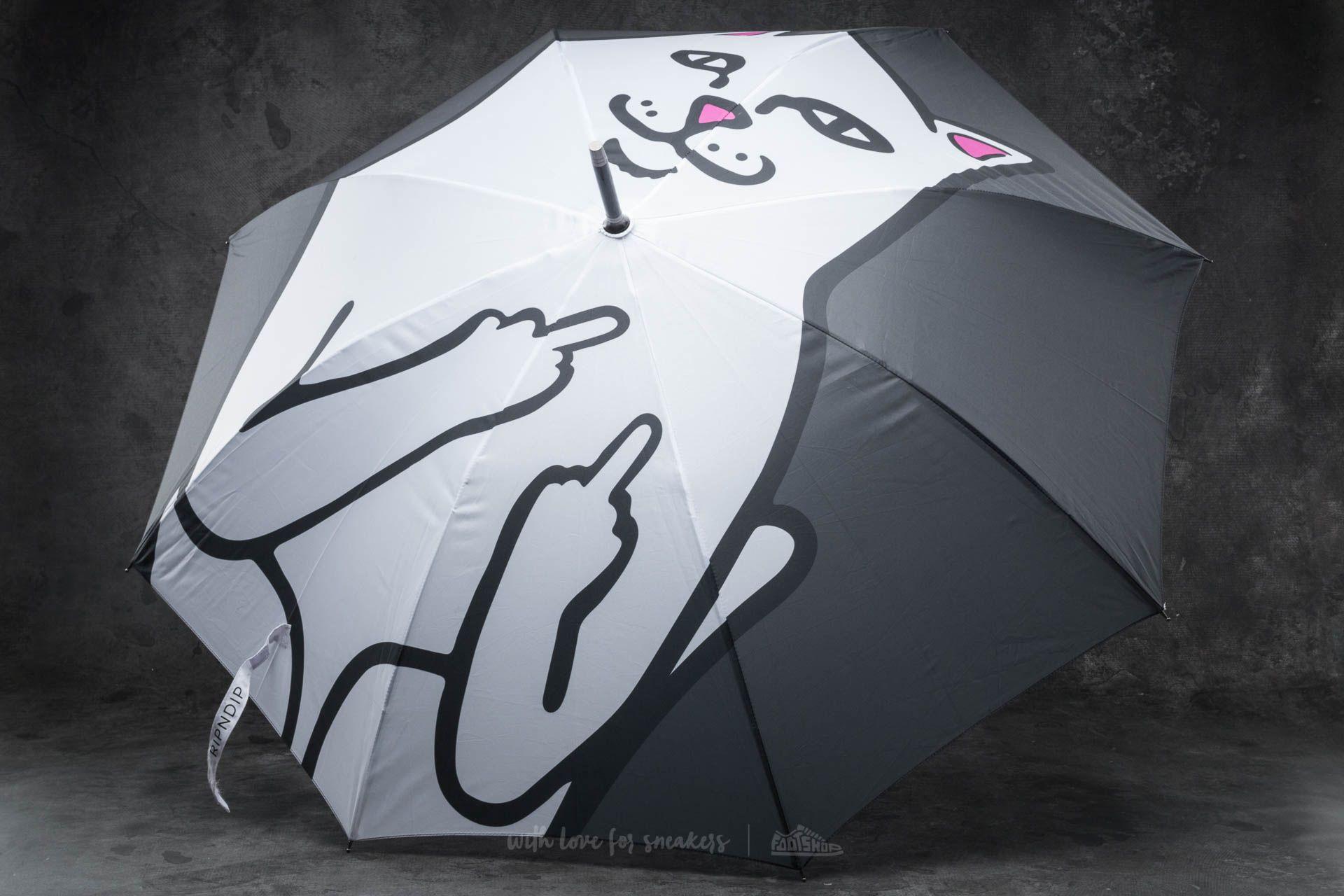 RIPNDIP Lord Nermal Umbrella Black - 14146