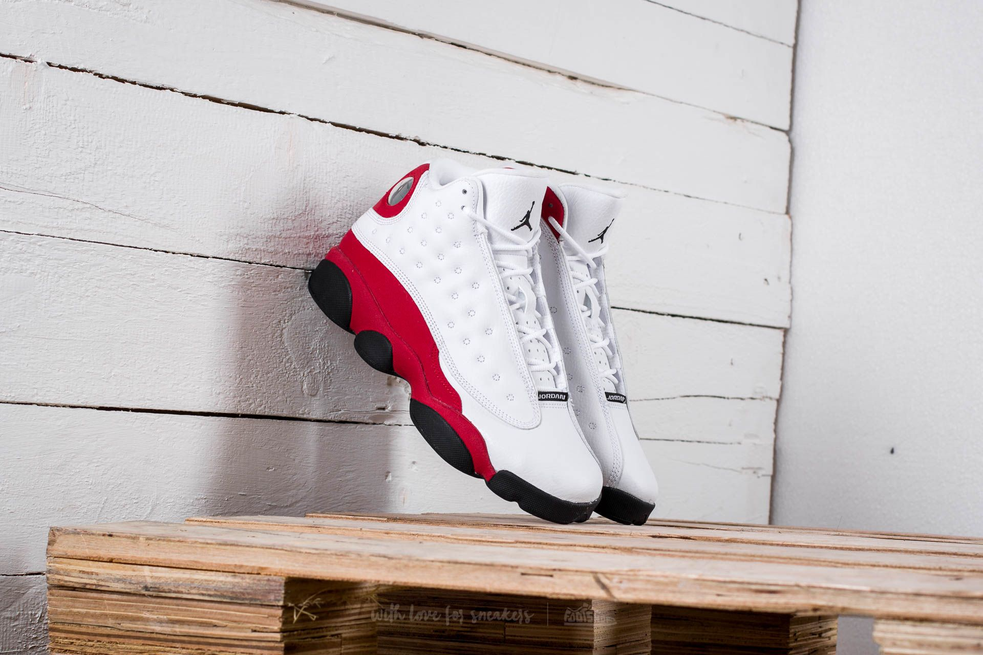Air Jordan 13 Retro BG White/ Black-True Red-Cool Grey - 14248