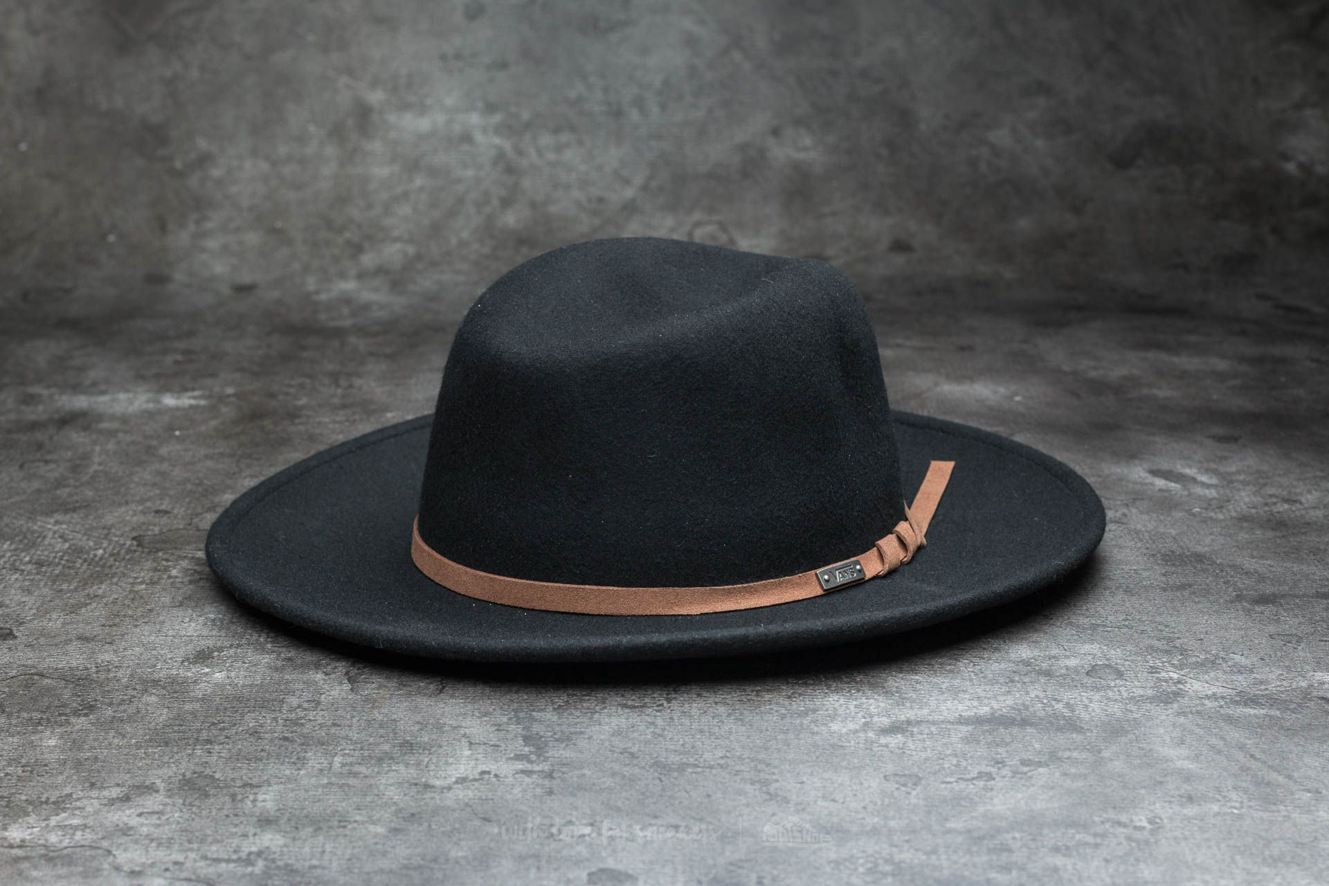 Vans Tell Me Wide Brim Hat Black - 14306