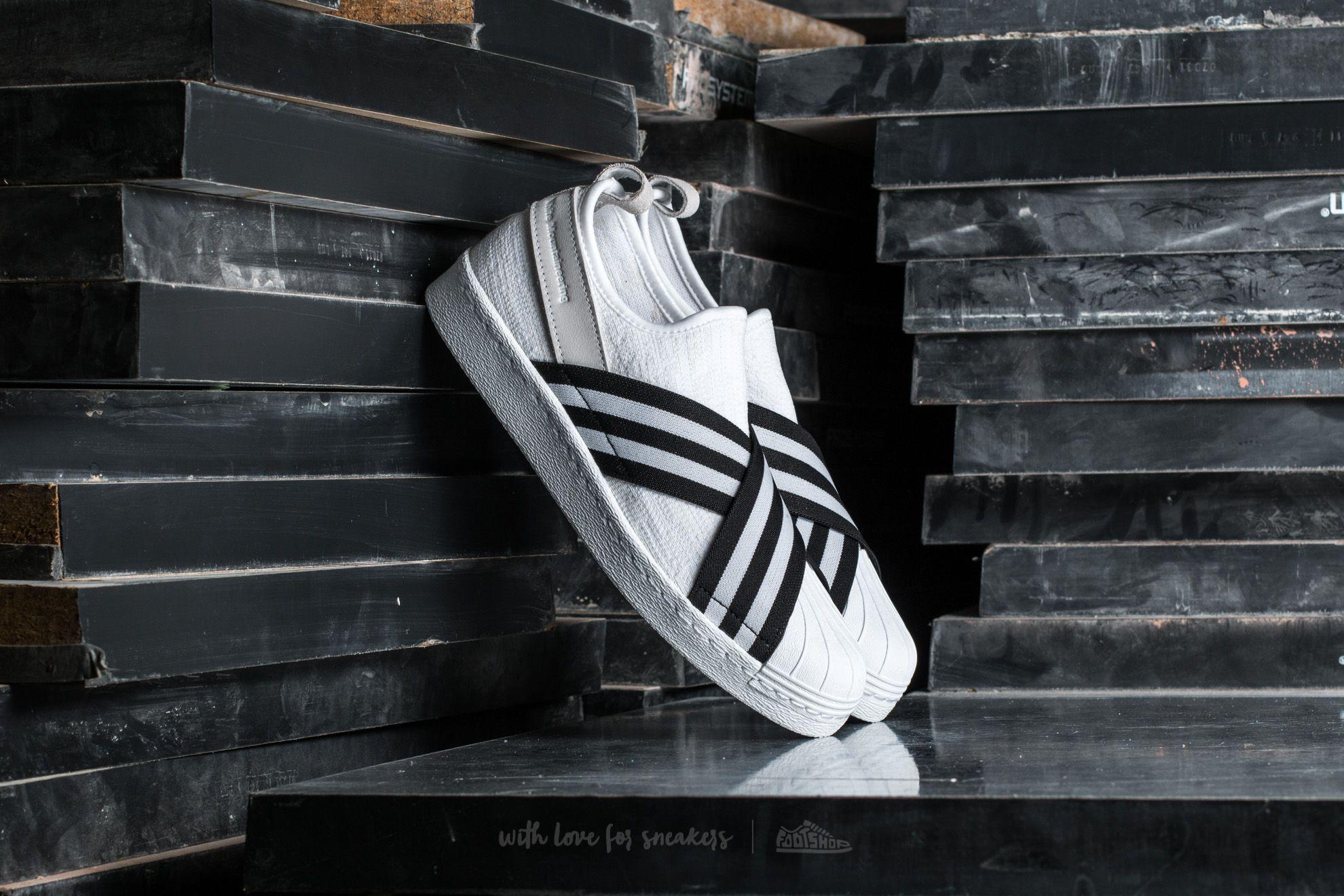 adidas Consortium x White Mountaineering Superstar Slip On Primeknit Footwear White/ Core Black/ Footwear White - 14379
