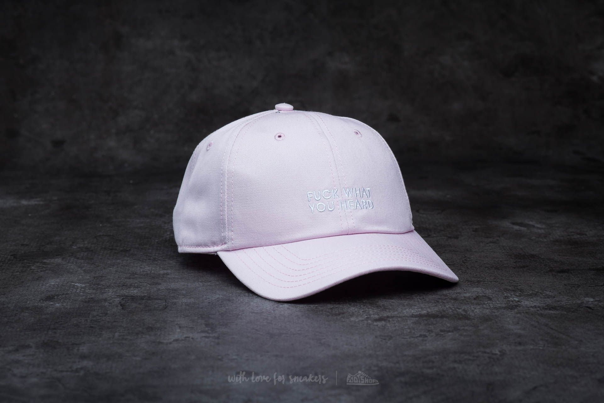 Cayler & Sons BL What You Heard Curved Cap Pink - 14377