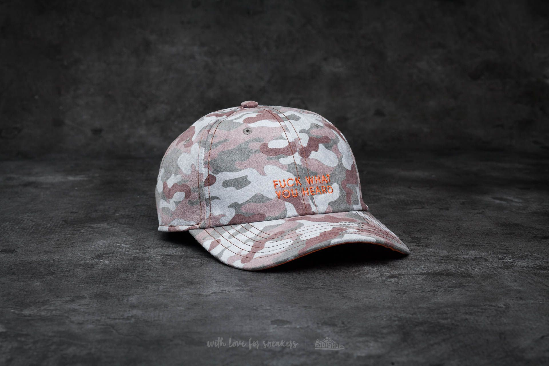 Cayler & Sons BL What You Heard Curved Cap Multicolor - 14378