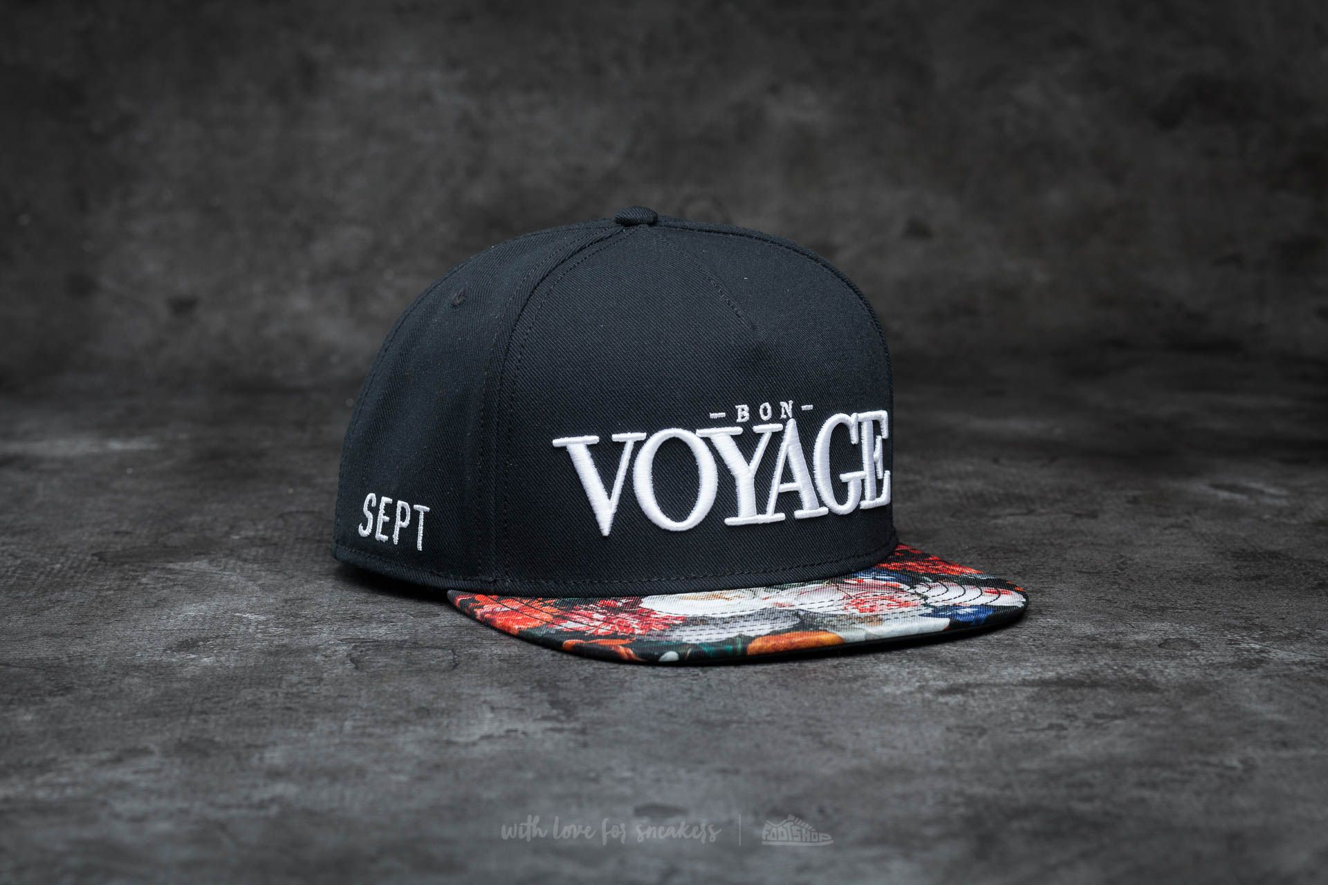 Cayler & Sons WL Bon Voyage Cap Black - 14358