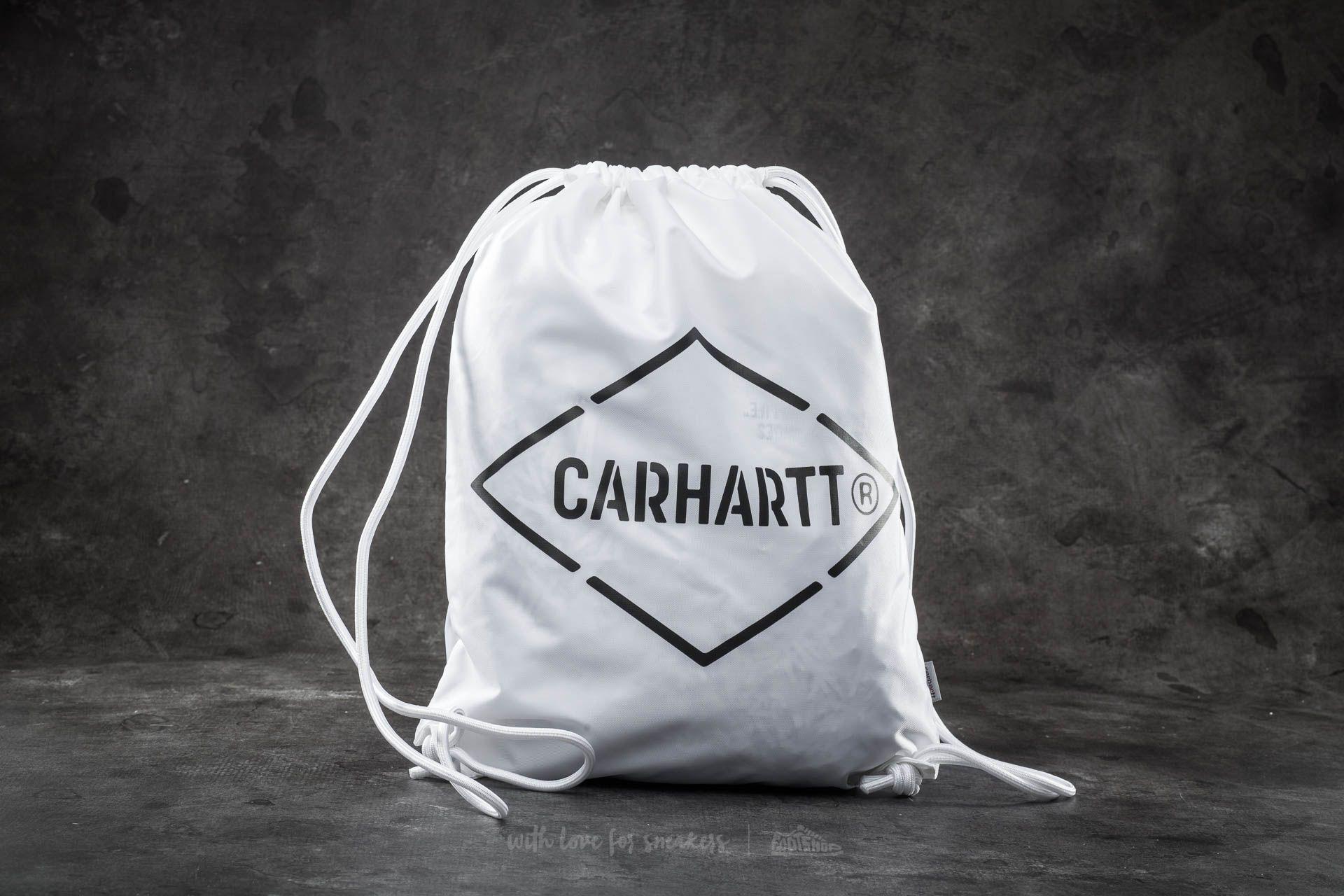 Carhartt WIP Diamond Script Bag White/ Black - 14591