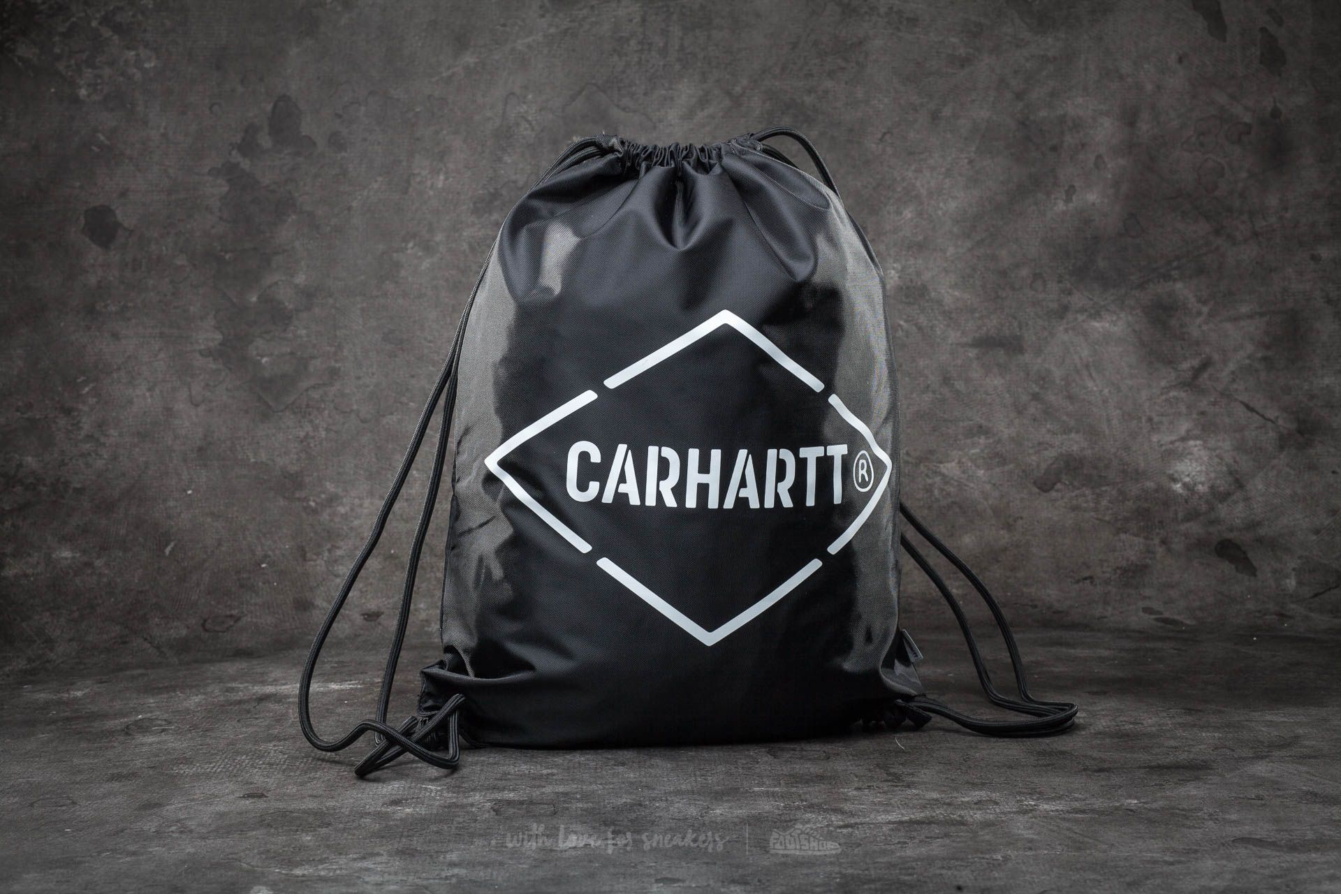 Carhartt WIP Diamond Scrip Bag Black/ White - 14592