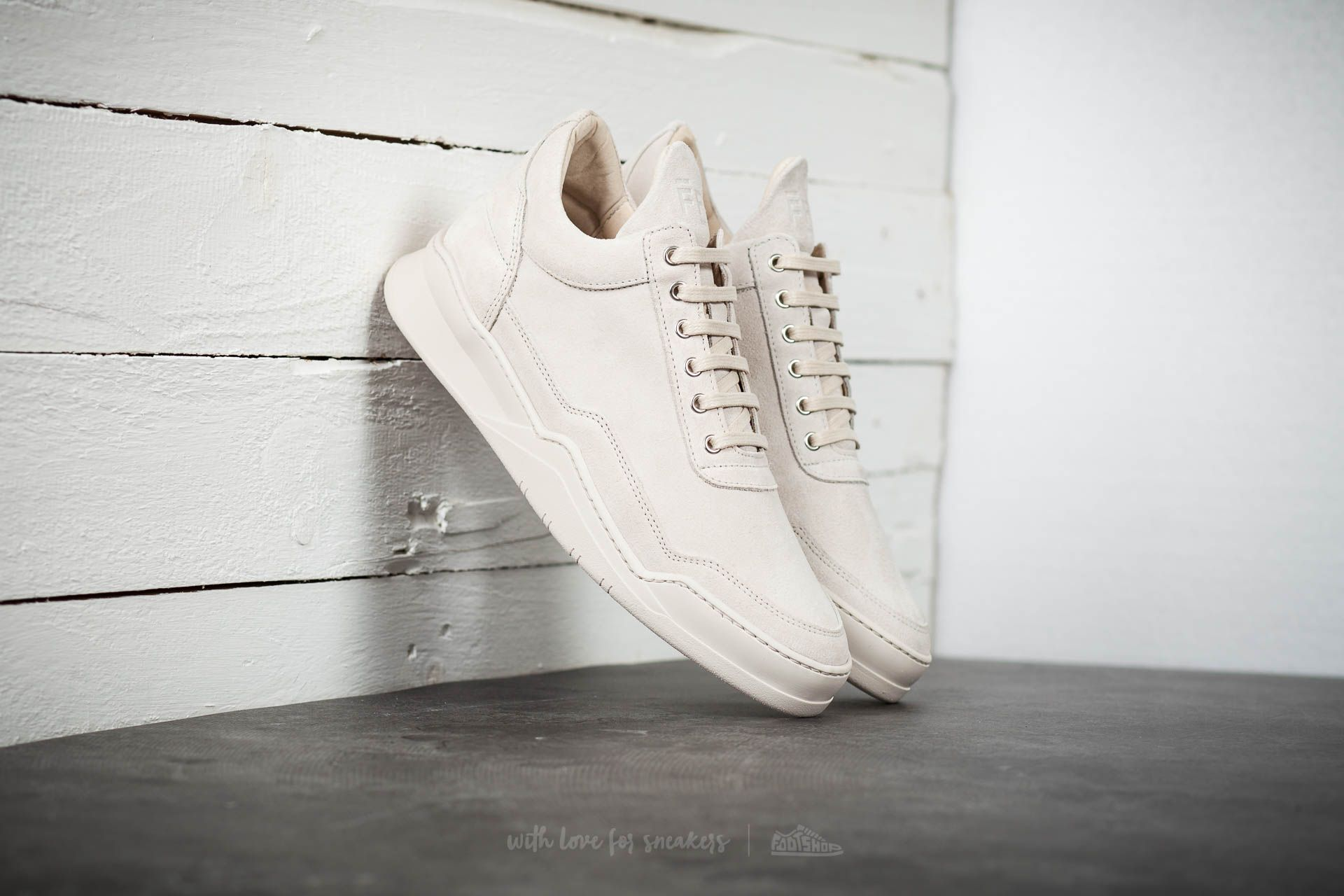 Filling Pieces Low Top Ghost Tone Beige - 14630