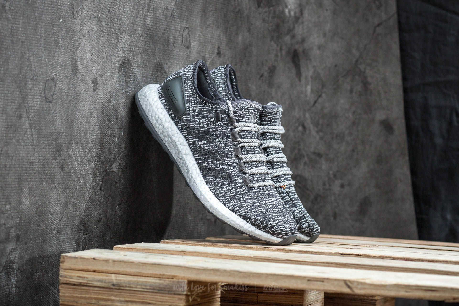 adidas Pure Boost LTD Dark Grey Heather Solid Grey/ Medium Grey Heather Solid Grey - 14763