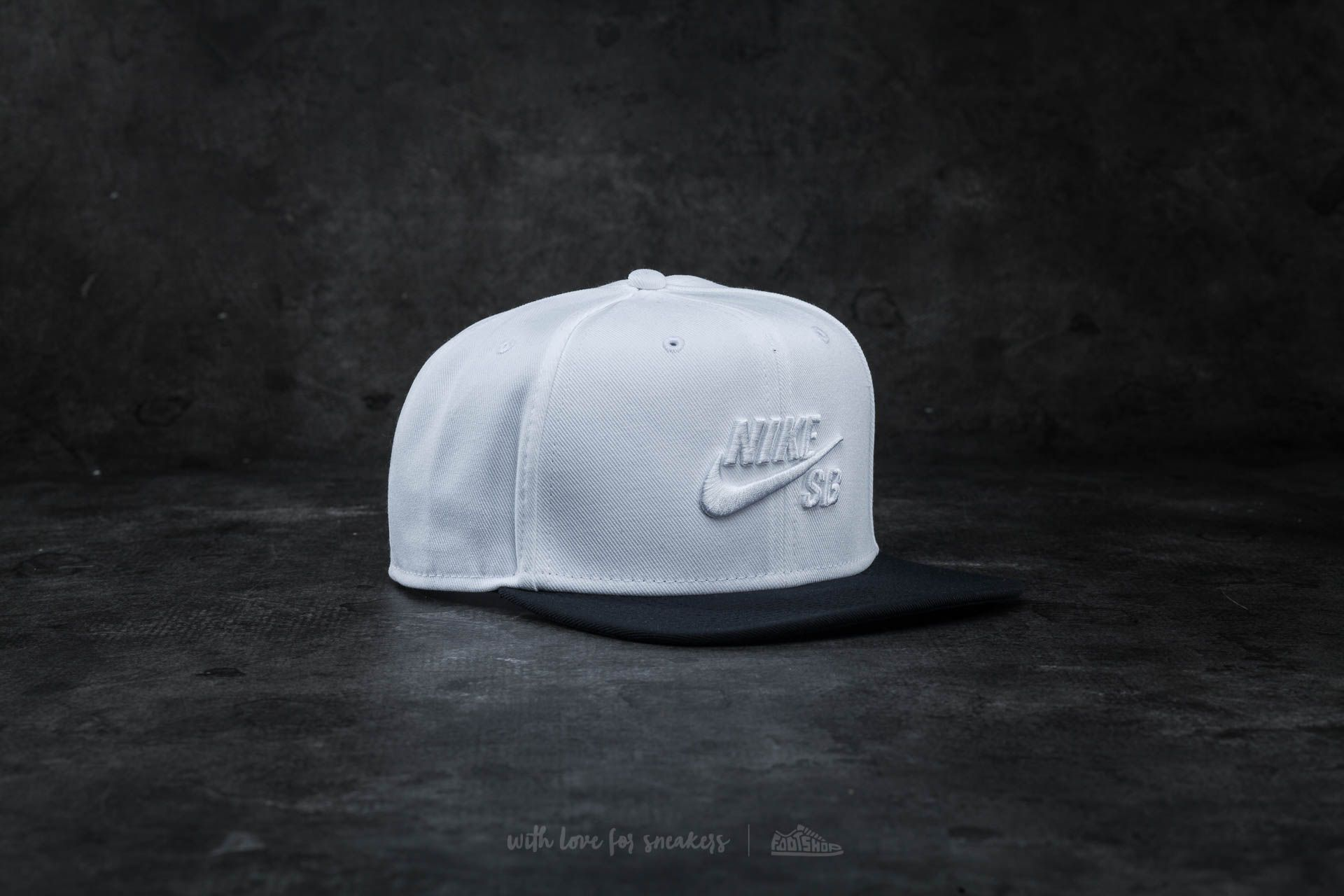 Nike SB Icon Snapback White/ Black - 14711