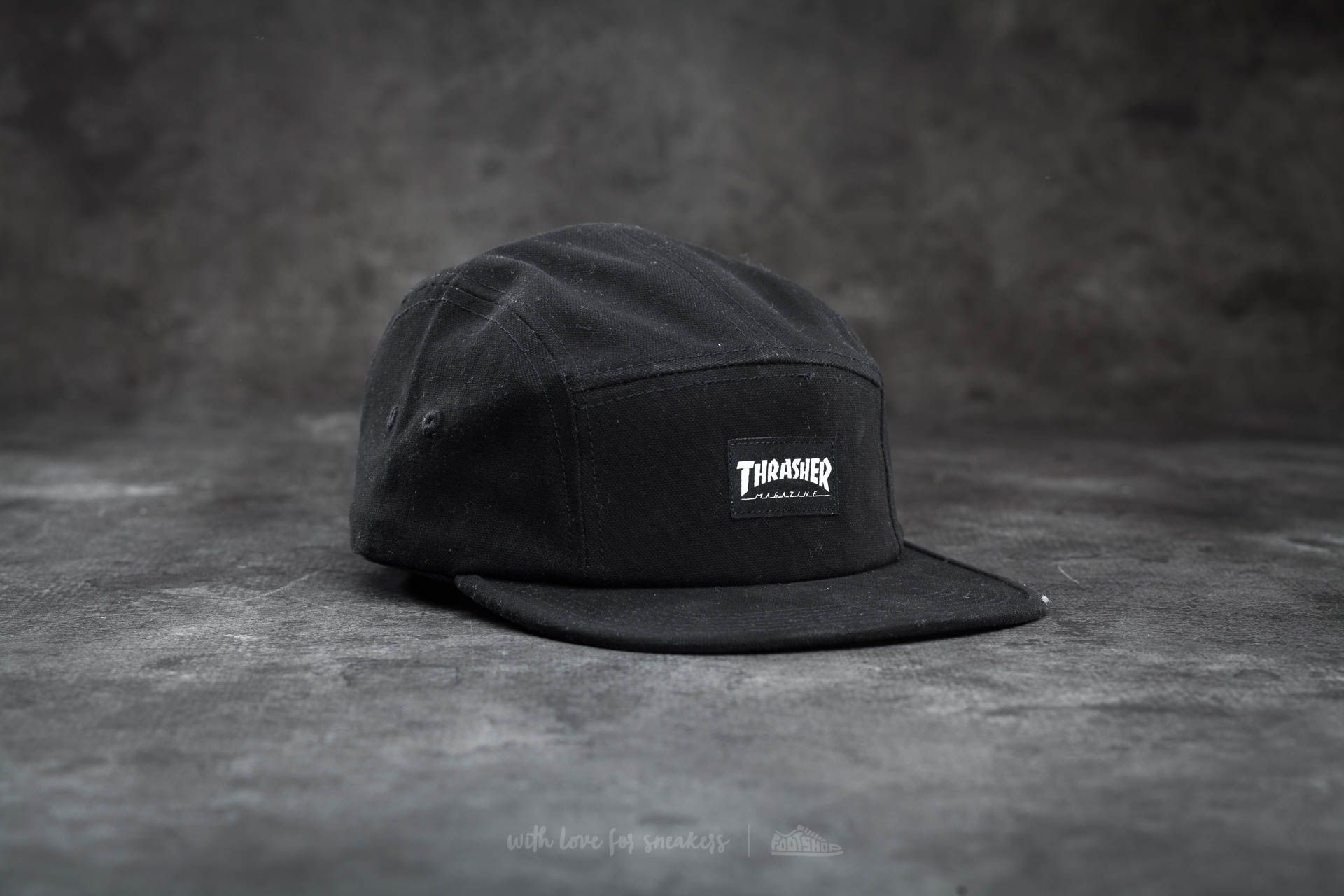 Thrasher 5 Panel Hat Black - 14788