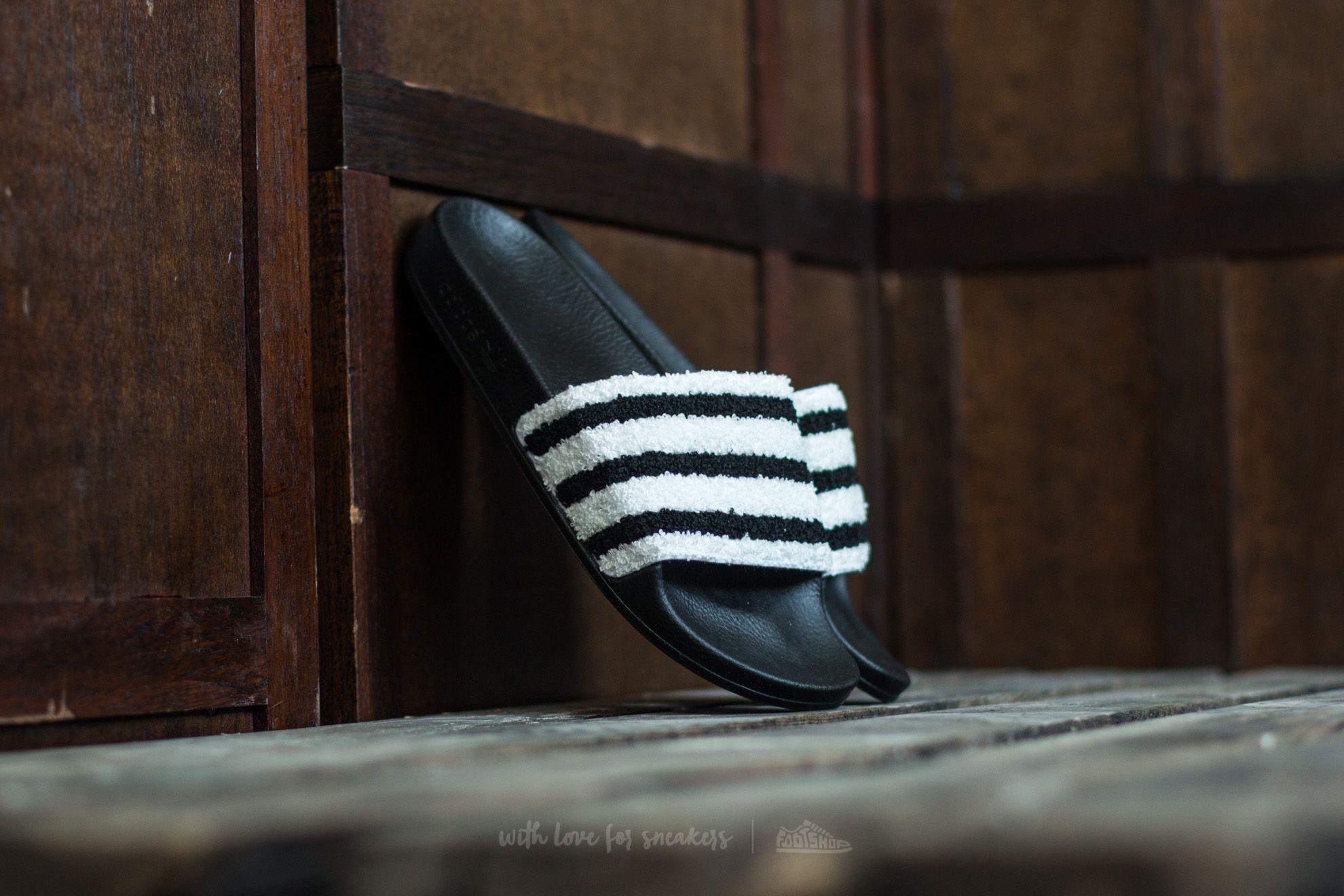 adidas Adilette Core Black/ Core Black/ Ftw White - 14993