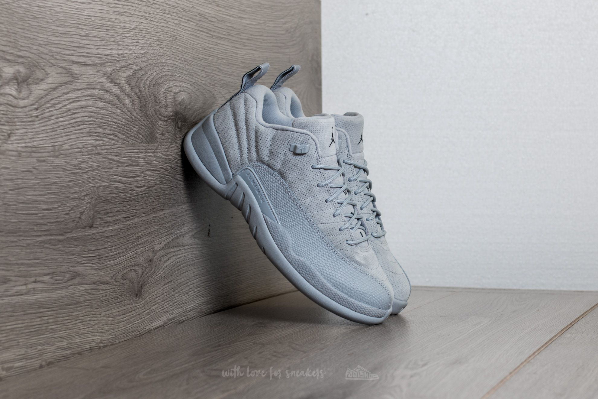 Air Jordan 12 Retro Low Wolf Grey/ Armory Navy - 15042