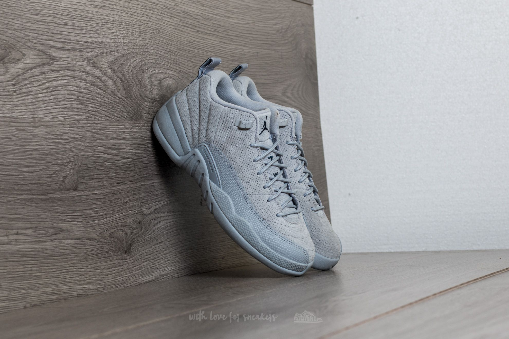 Air Jordan 12 Retro Low BG Wolf Grey/ Armory Navy - 15048