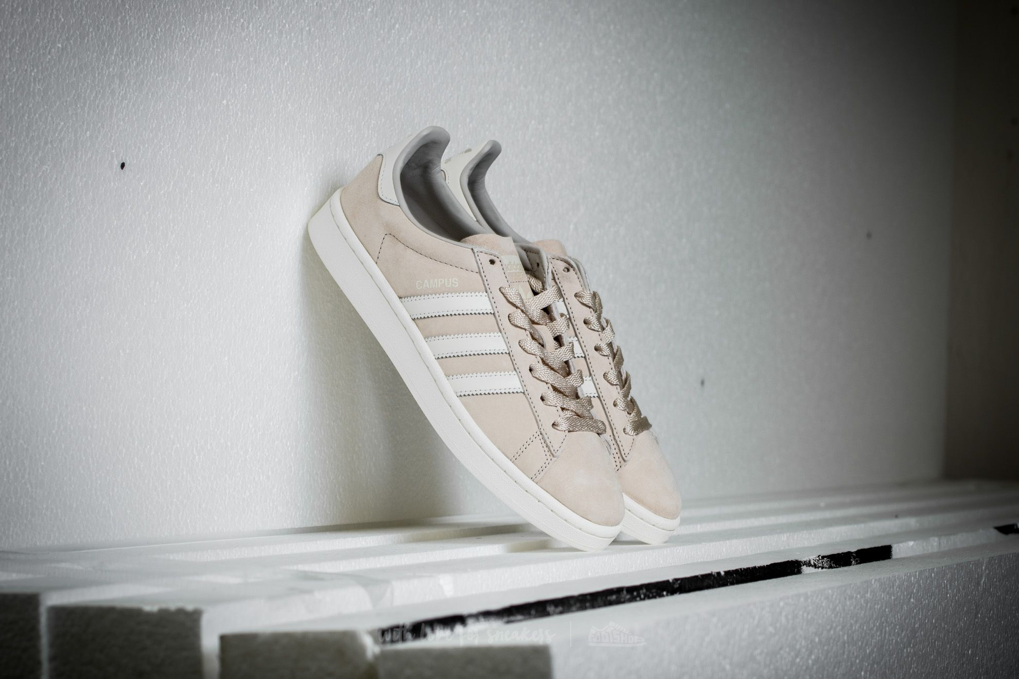 adidas Campus Core Brown/ Off White/ Core White - 15218