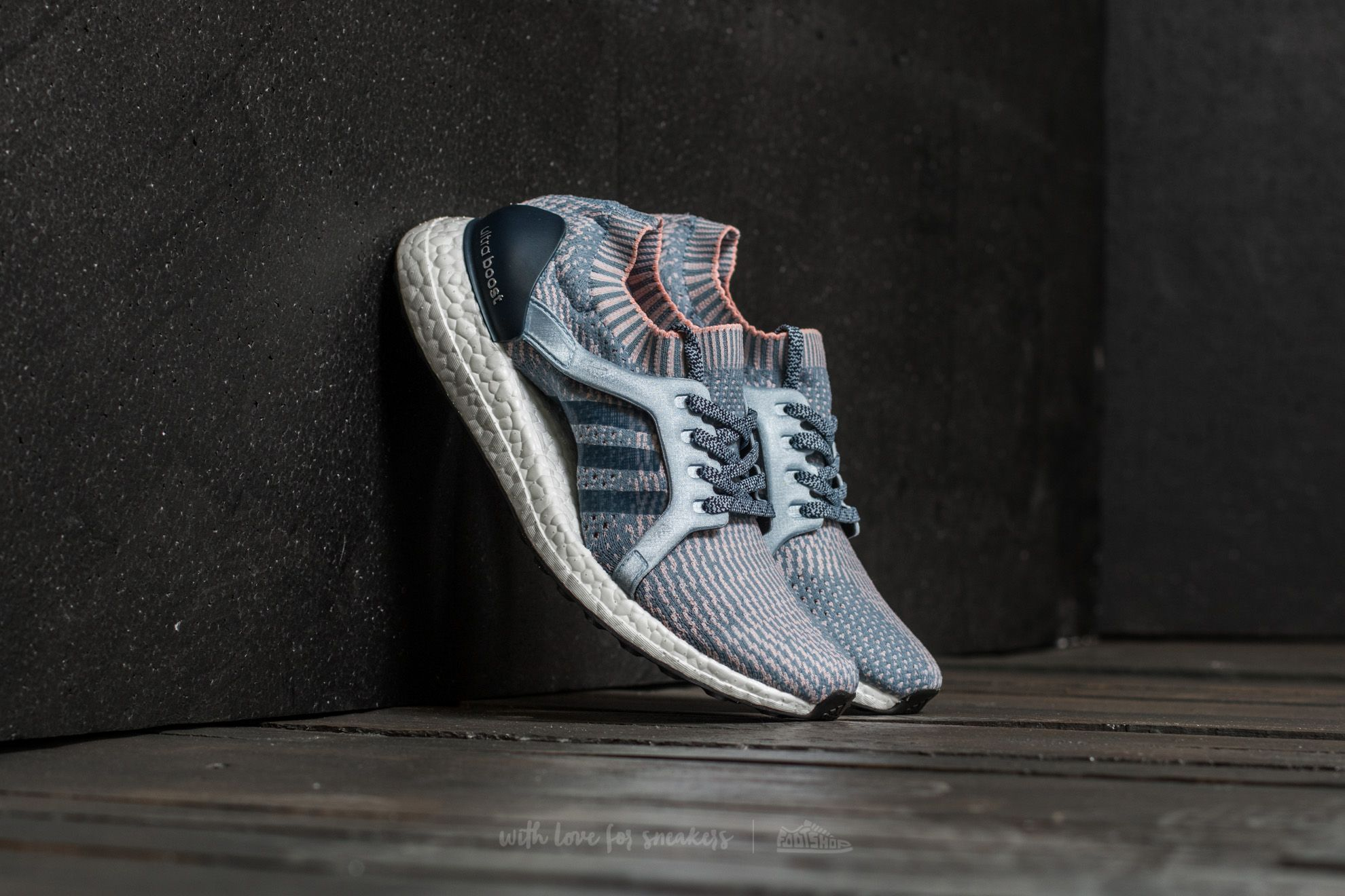 adidas Ultra Boost X Tactile Blue/ Easy Blue/ Haze Coral - 15268