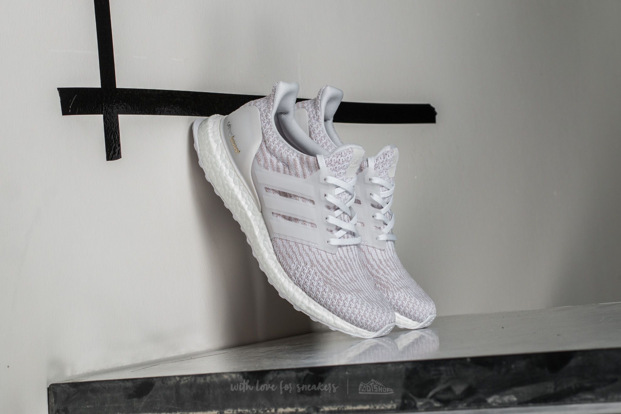 adidas Ultra Boost w Ftw White/ Pearl Grey - 15275