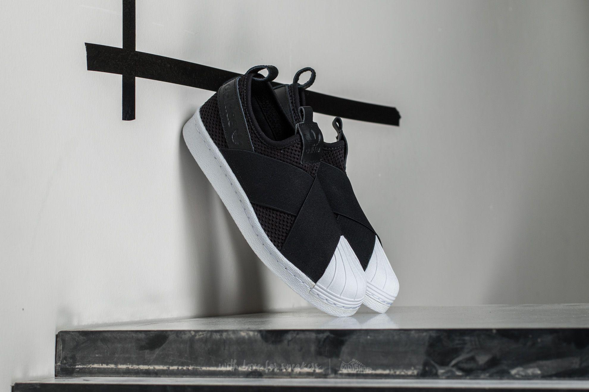 adidas Superstar SlipOn W Core Black/ Core Black/ Ftw White - 15286