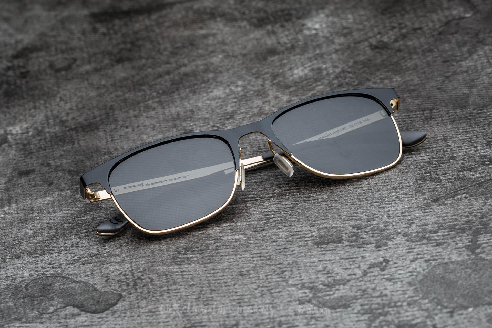 adidas x Italia Independent AOM001 Sunglasses Black/ Light Gold - 15083