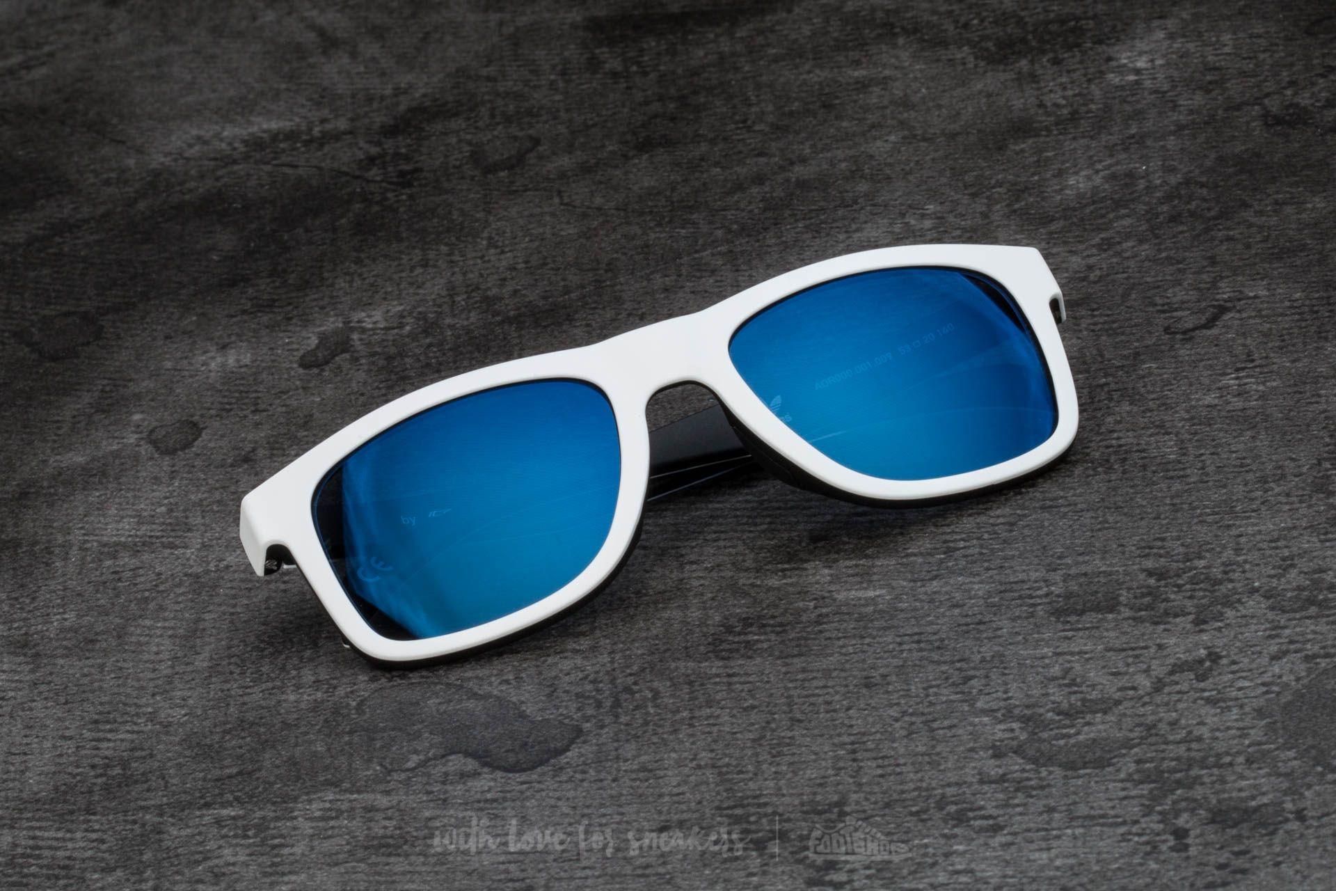 adidas x Italia Independent AOR000 Sunglasses White/ Black - 15089