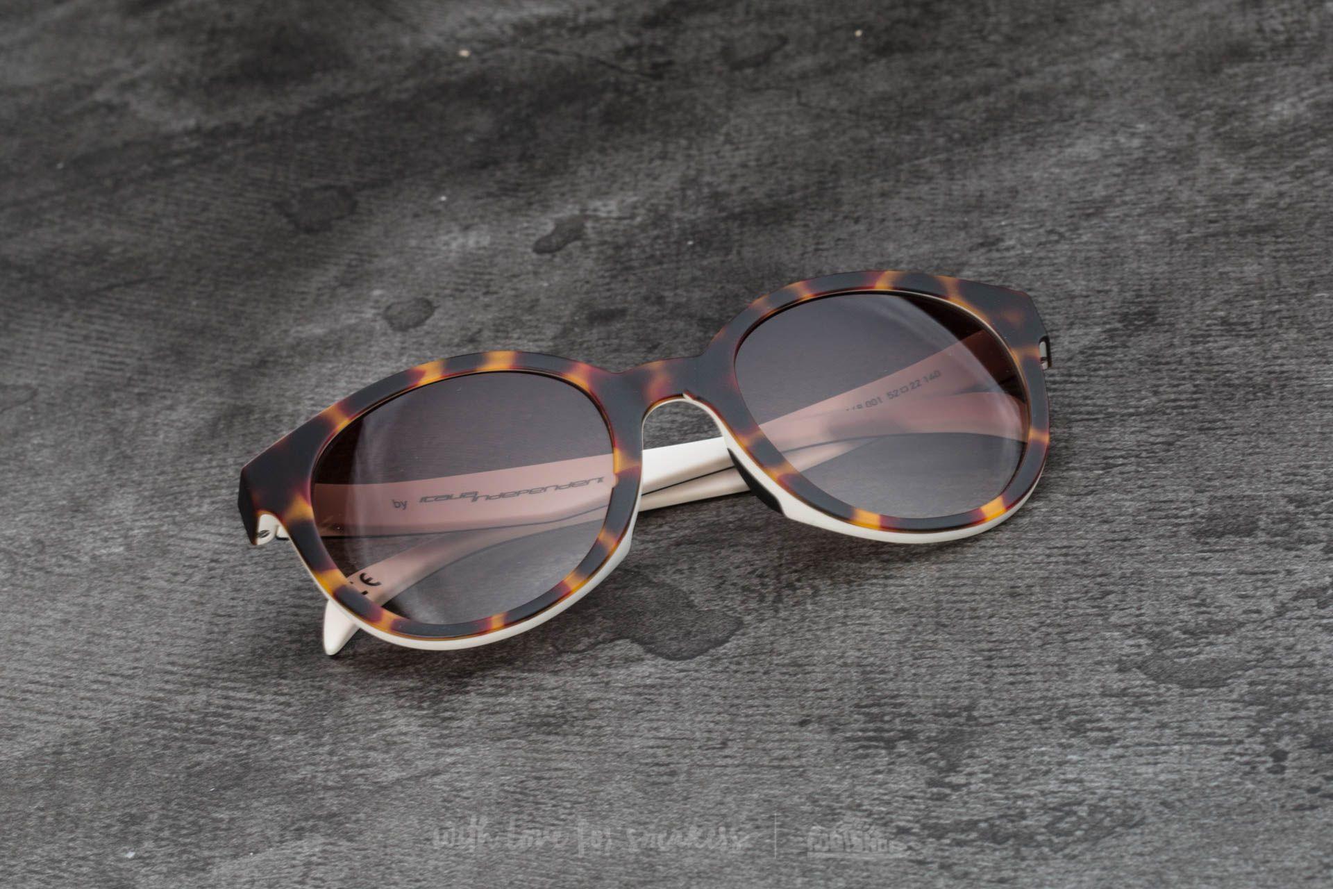 adidas x Italia Independent AOR002 Sunglasses Havana Brown/ White - 15094