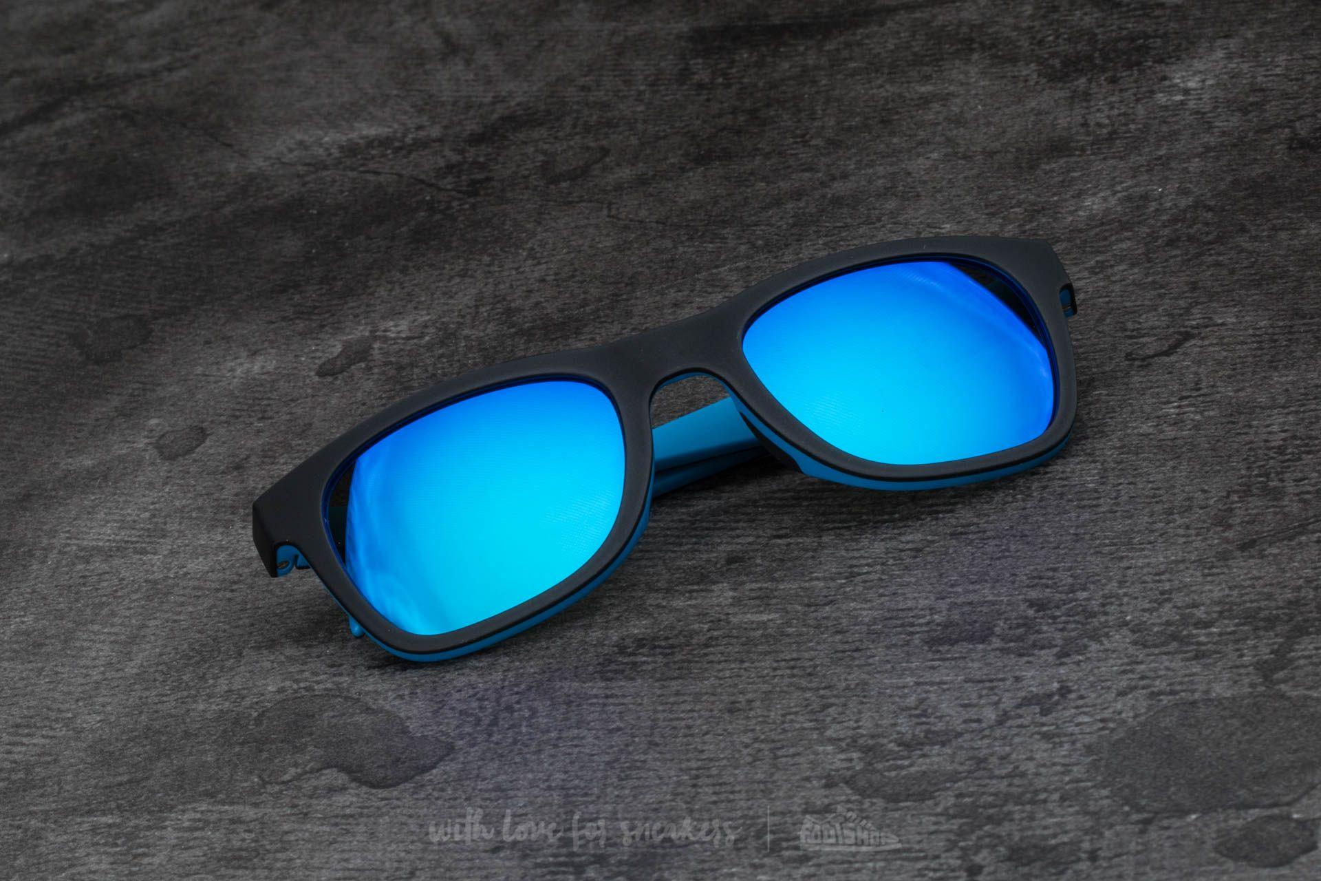 adidas x Italia Independent AOR004 Sunglasses Black/ Sky Led - 15097
