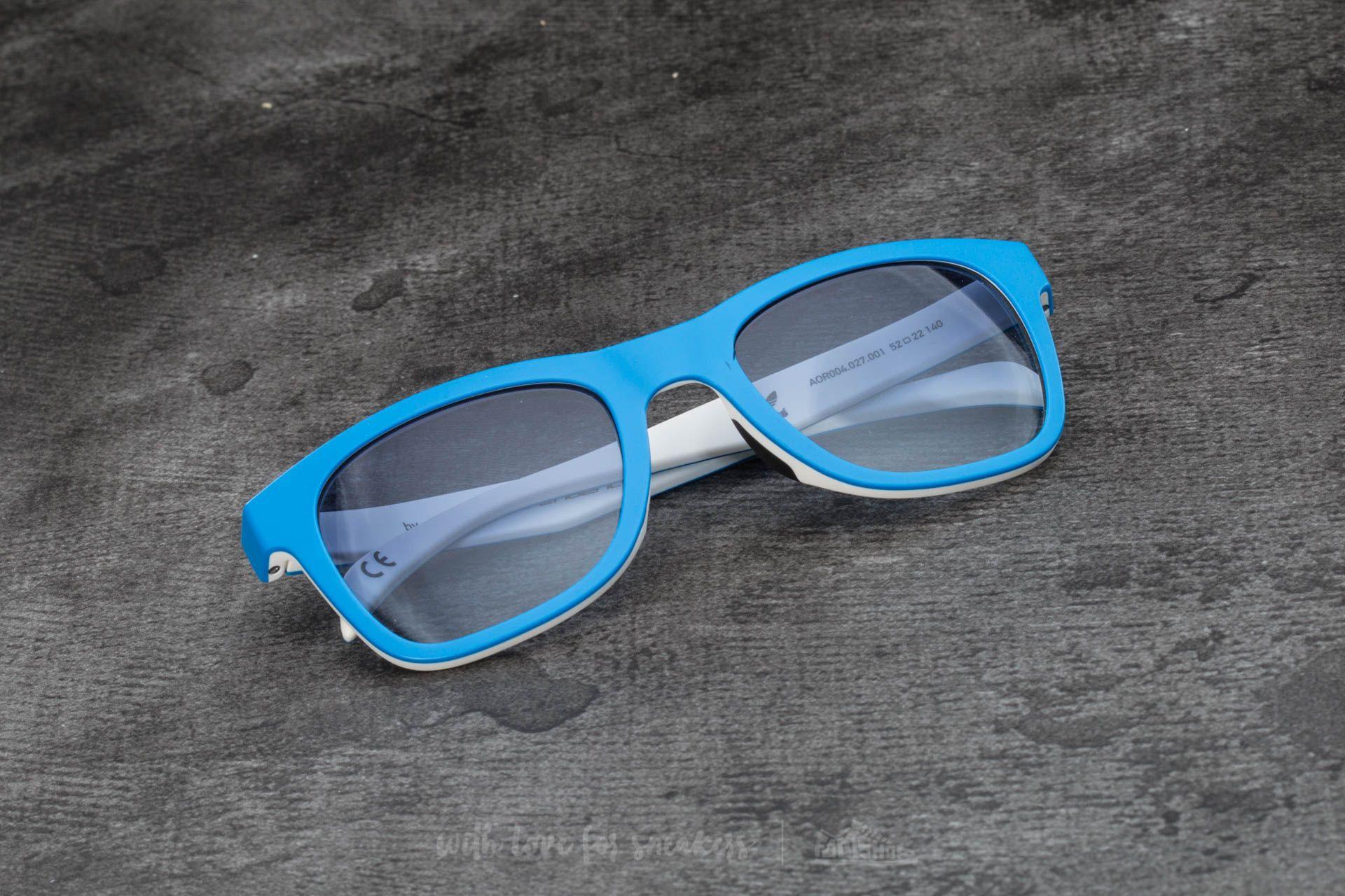 adidas x Italia Independent AOR004 Sunglasses Sky Led/ White - 15098