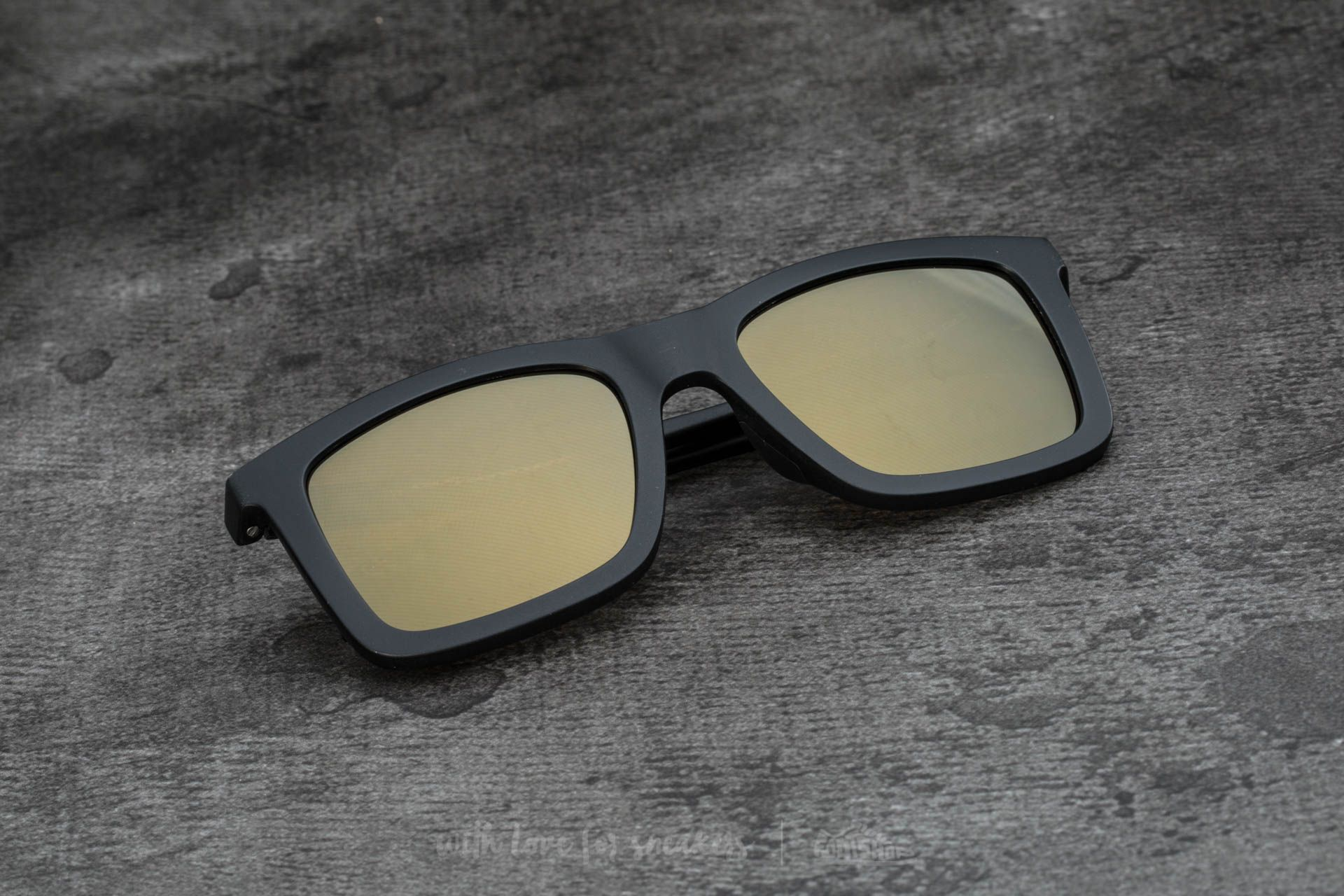 adidas x Italia Independent AOR015 Sunglasses Black/ Black - 15101