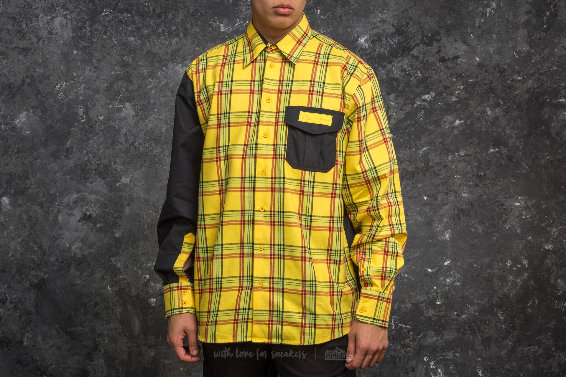 Footshop x LAFORMELA Shirt Yellow/ Black - 15174
