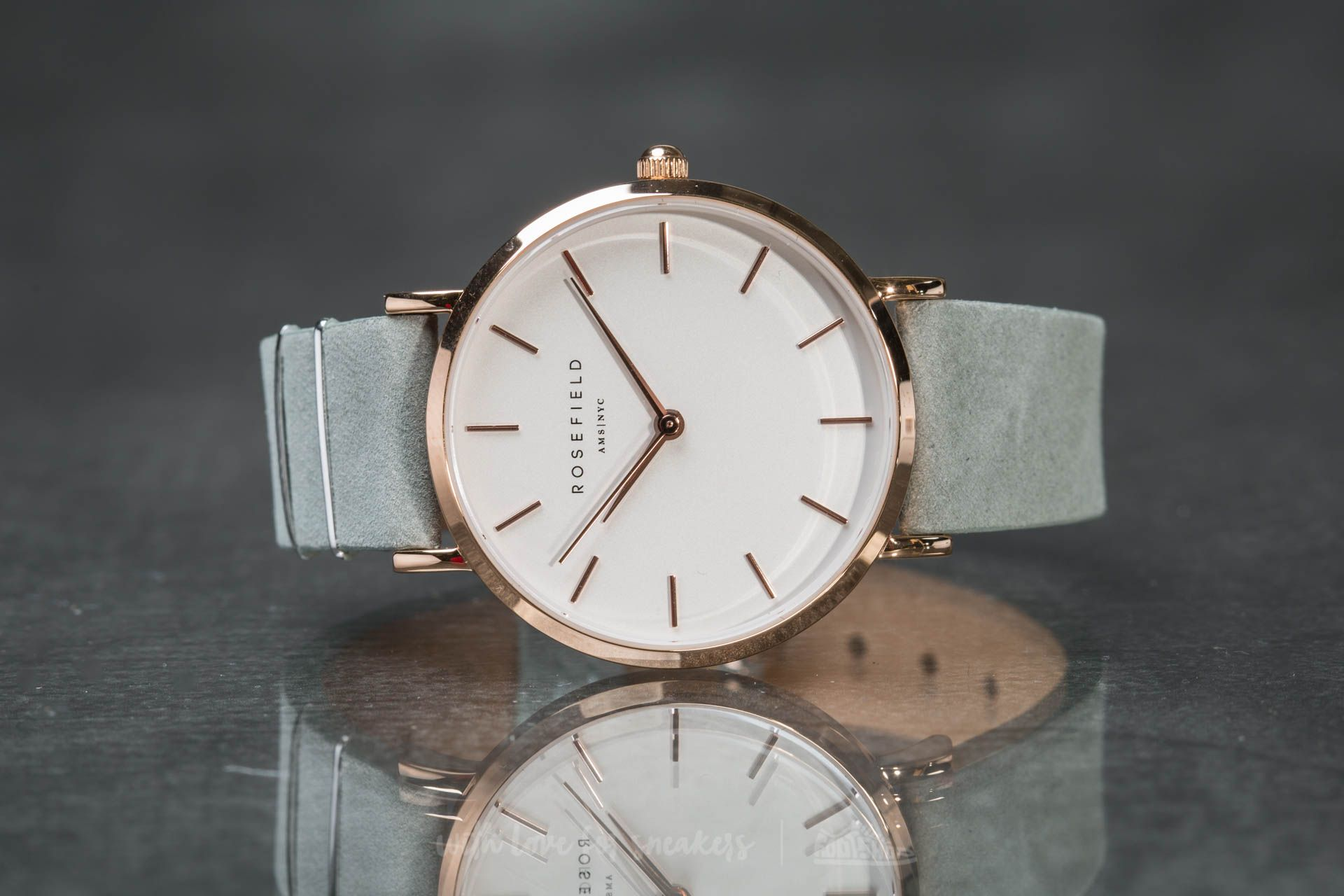 Rosefield The West Village Rosegold White/ Mint Grey - 15184