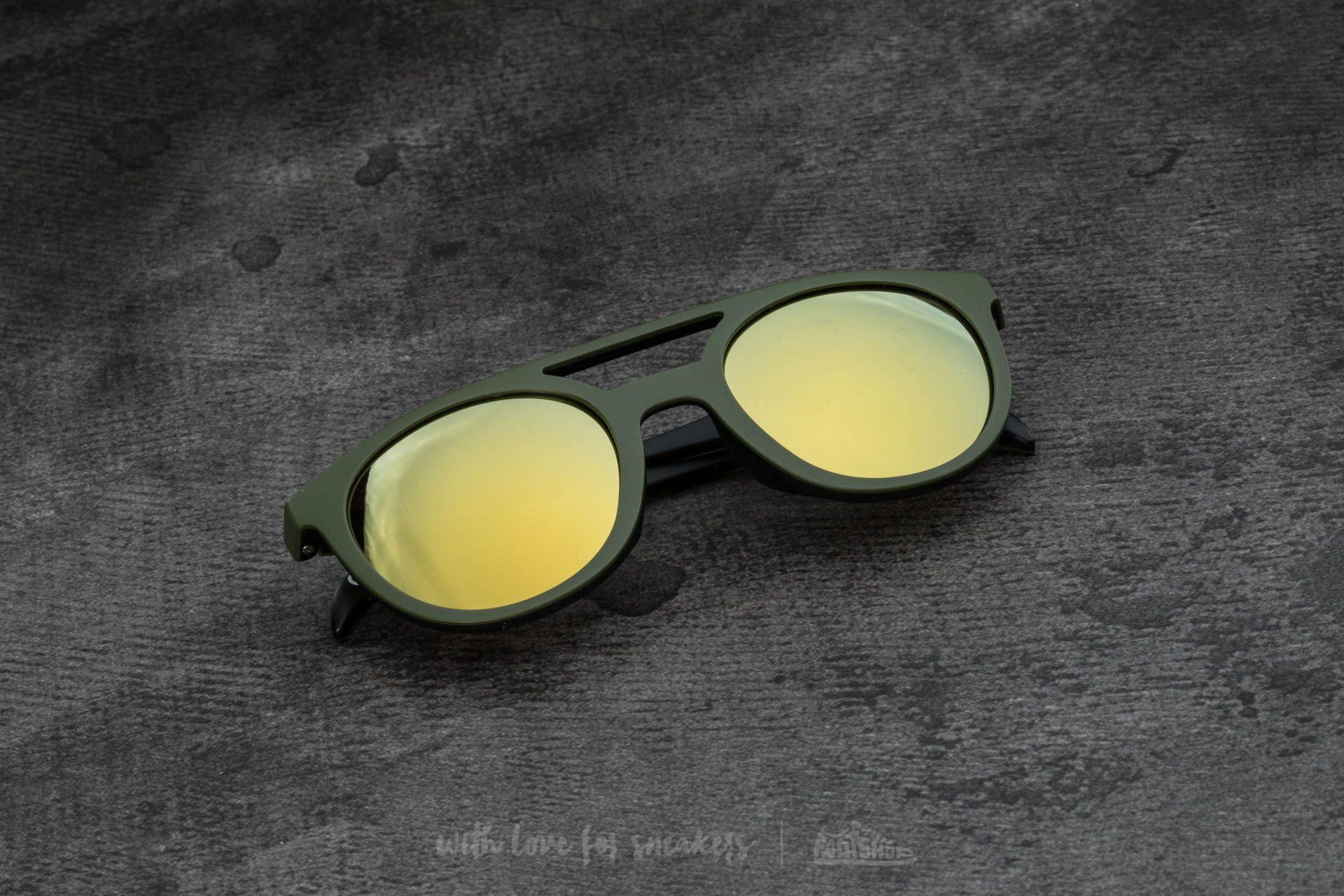 adidas x Italia Independent AOR001 Sunglasses Black/ Sky Led - 15091