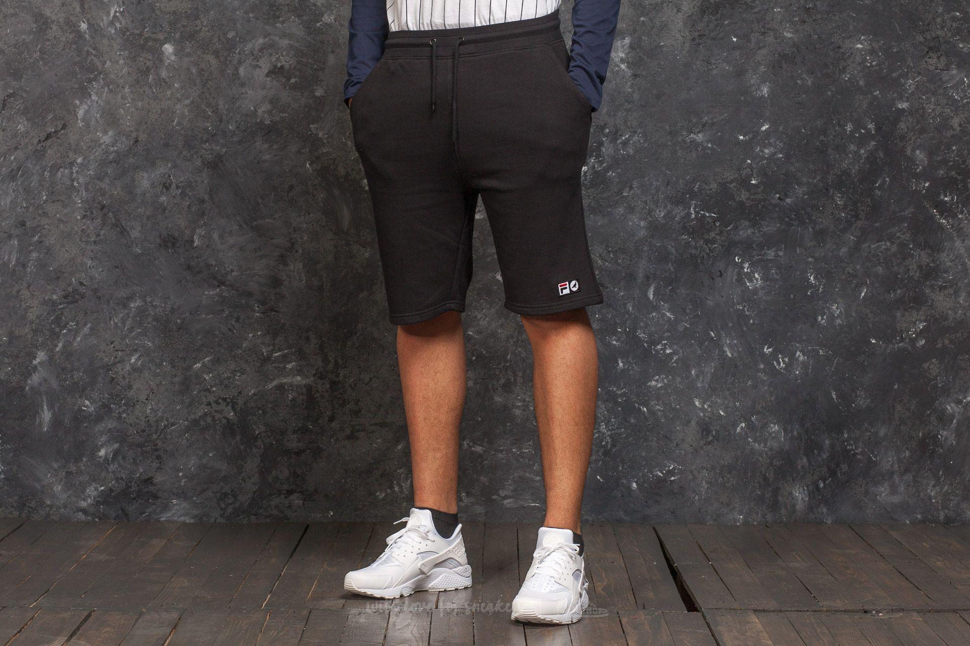 Staple x FILA Fleece Short Black - 15287