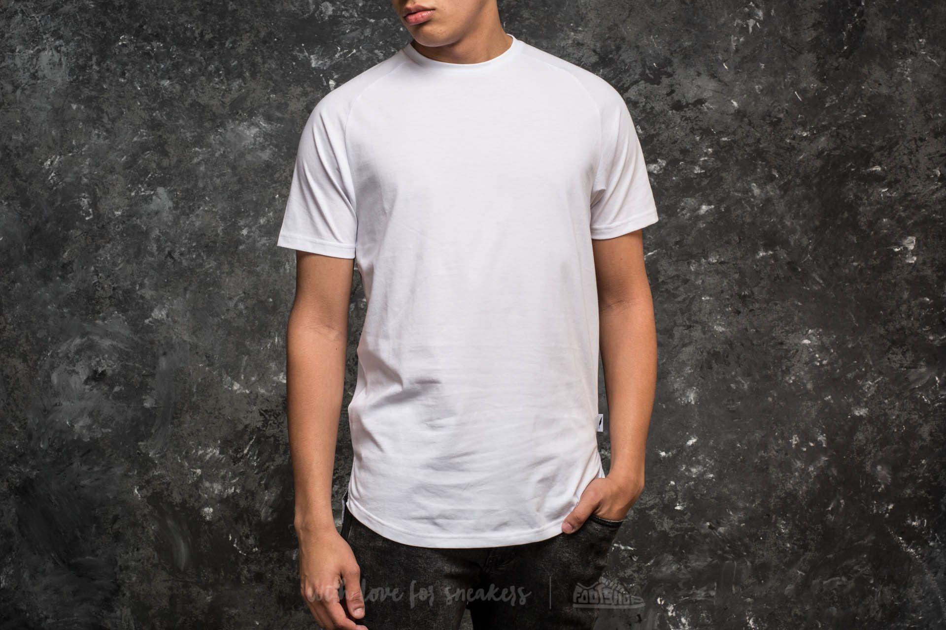 Publish Index Shortsleeve Raglan Knitted Tee White - 15156