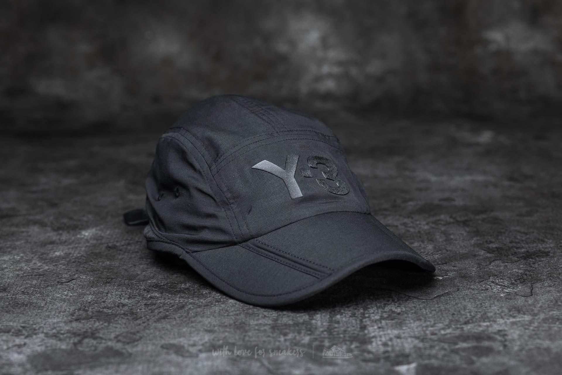 Y-3 Fold Cap Black - 15324