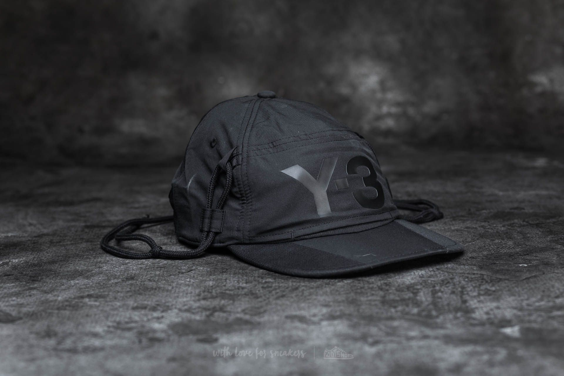 Y-3 Multifunction Cap Black - 15322