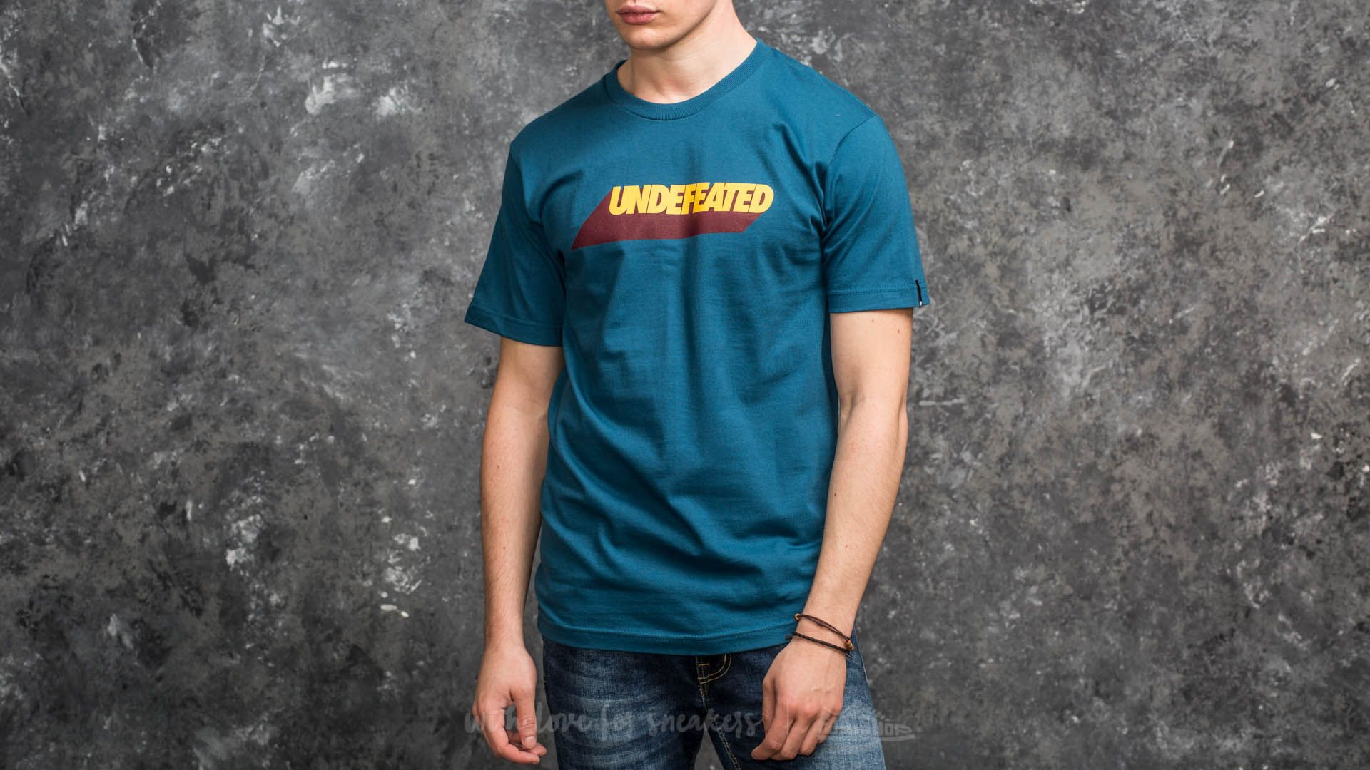 Undefeated Cast Tee Blue - 15045
