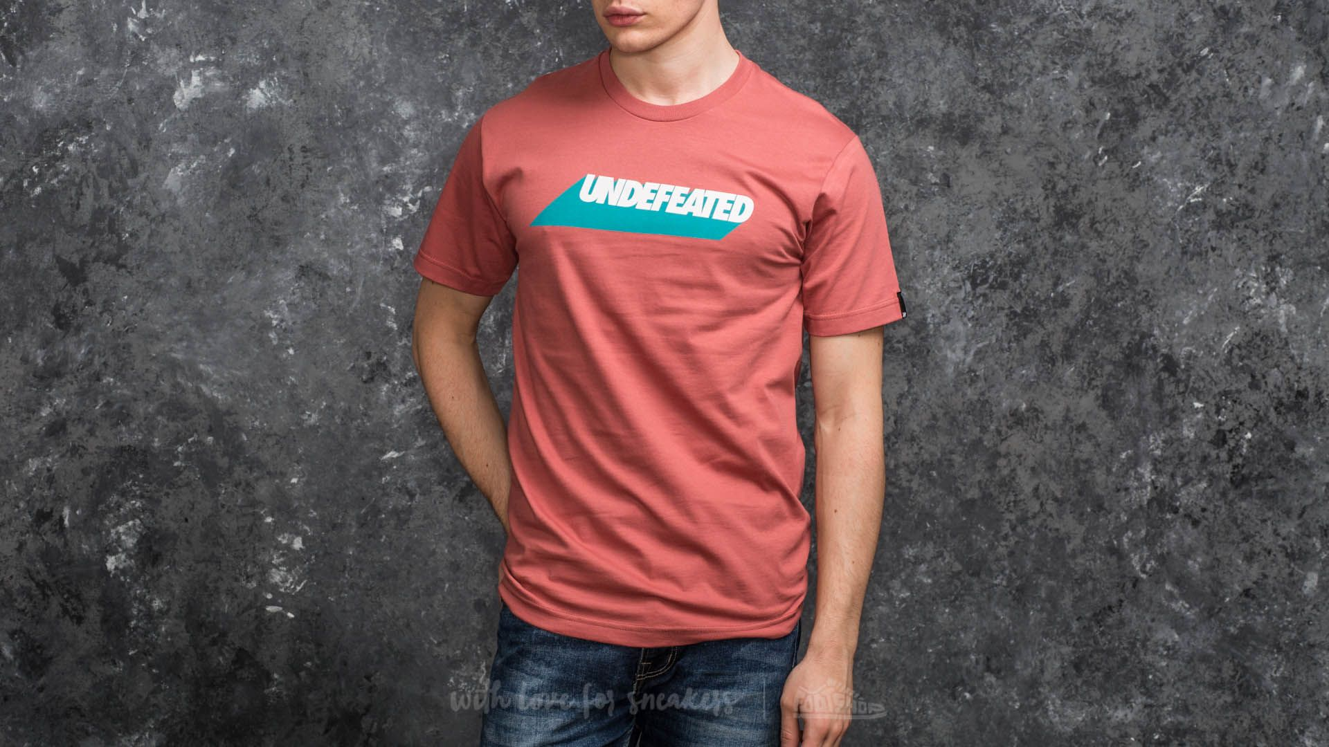 Undefeated Cast Tee Rose - 15046