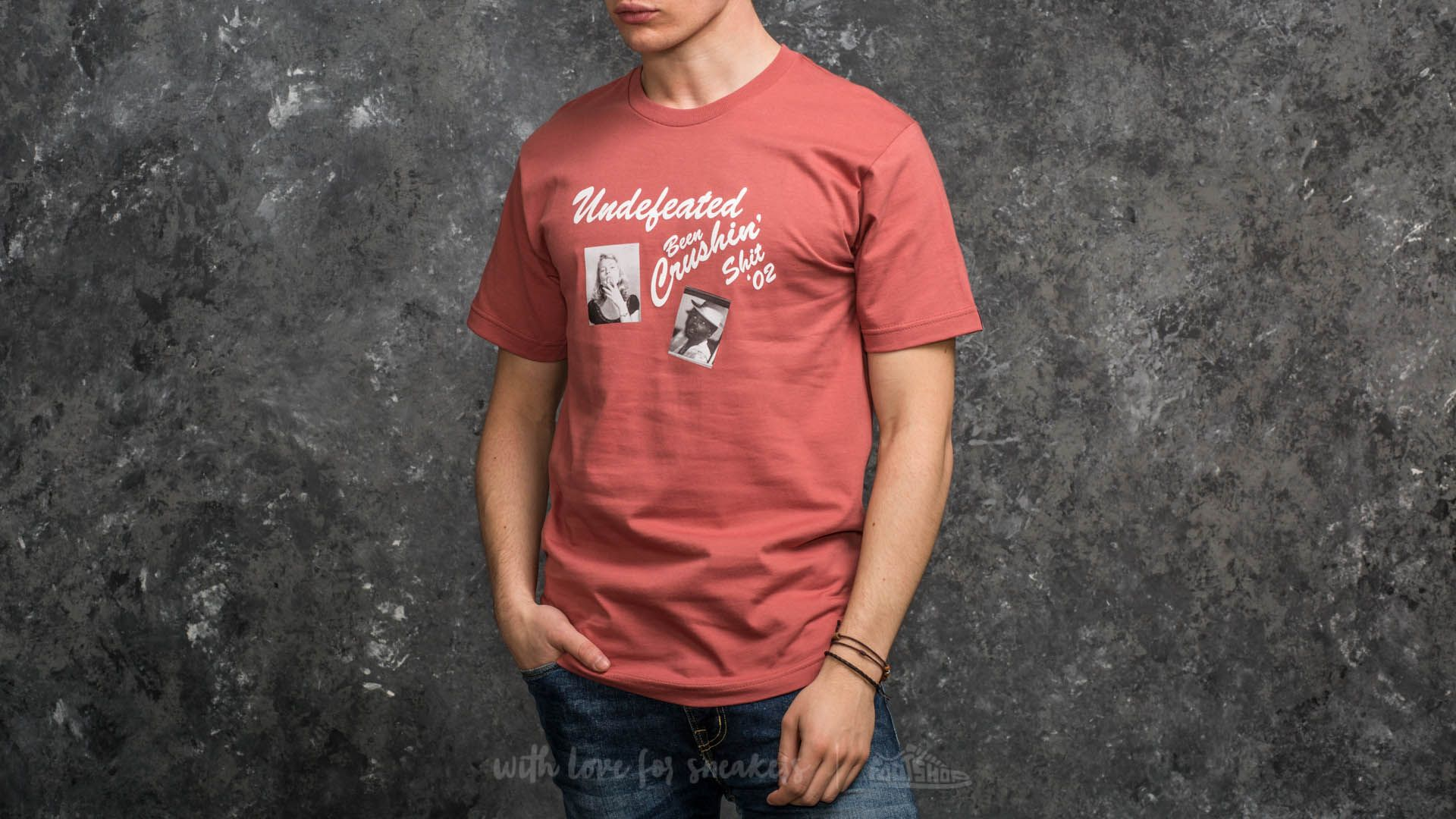 Undefeated Been Crushin Tee Rose - 15049