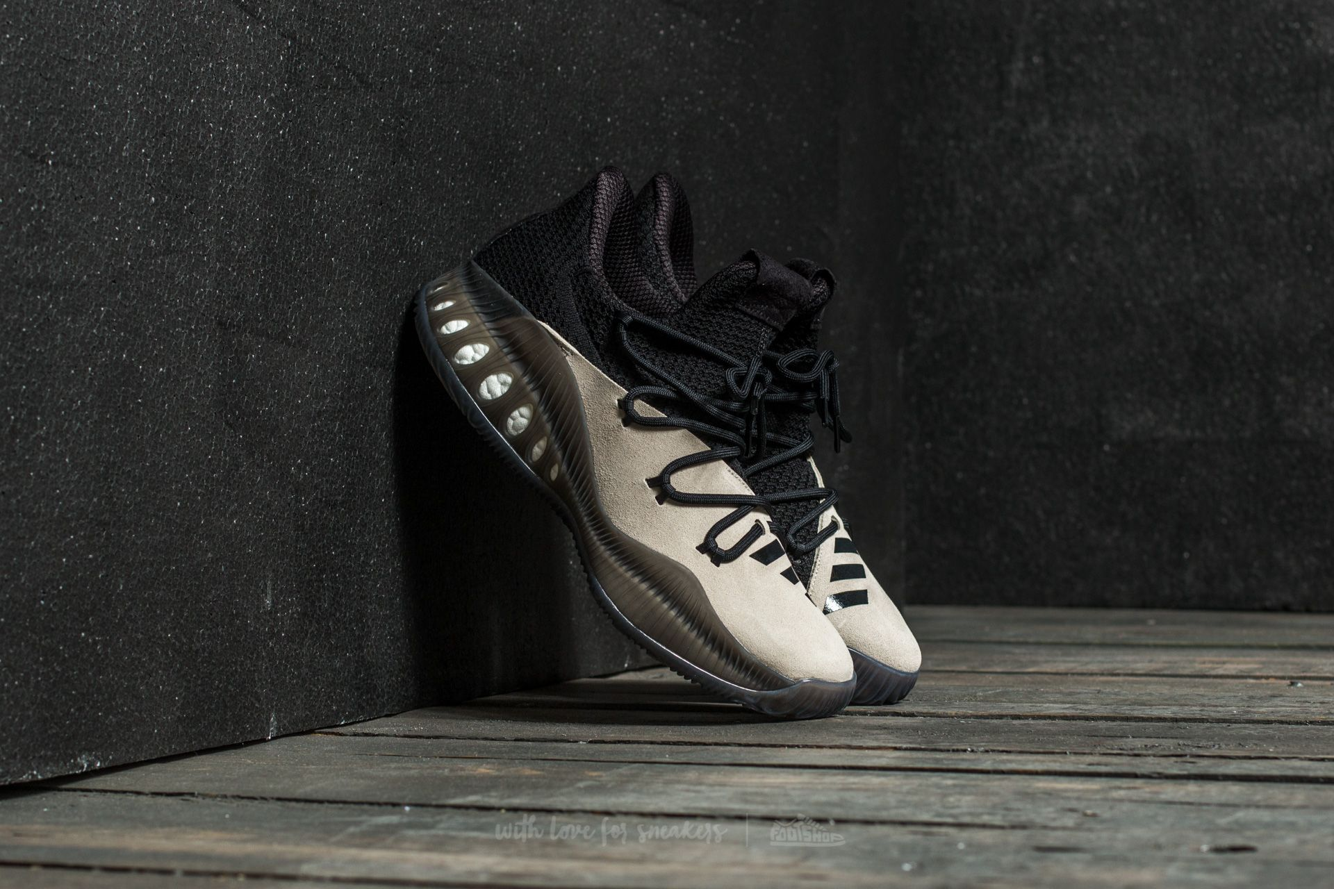 adidas Ado Crazy Explosive Clay Brown/ White Black/ Black White - 15620