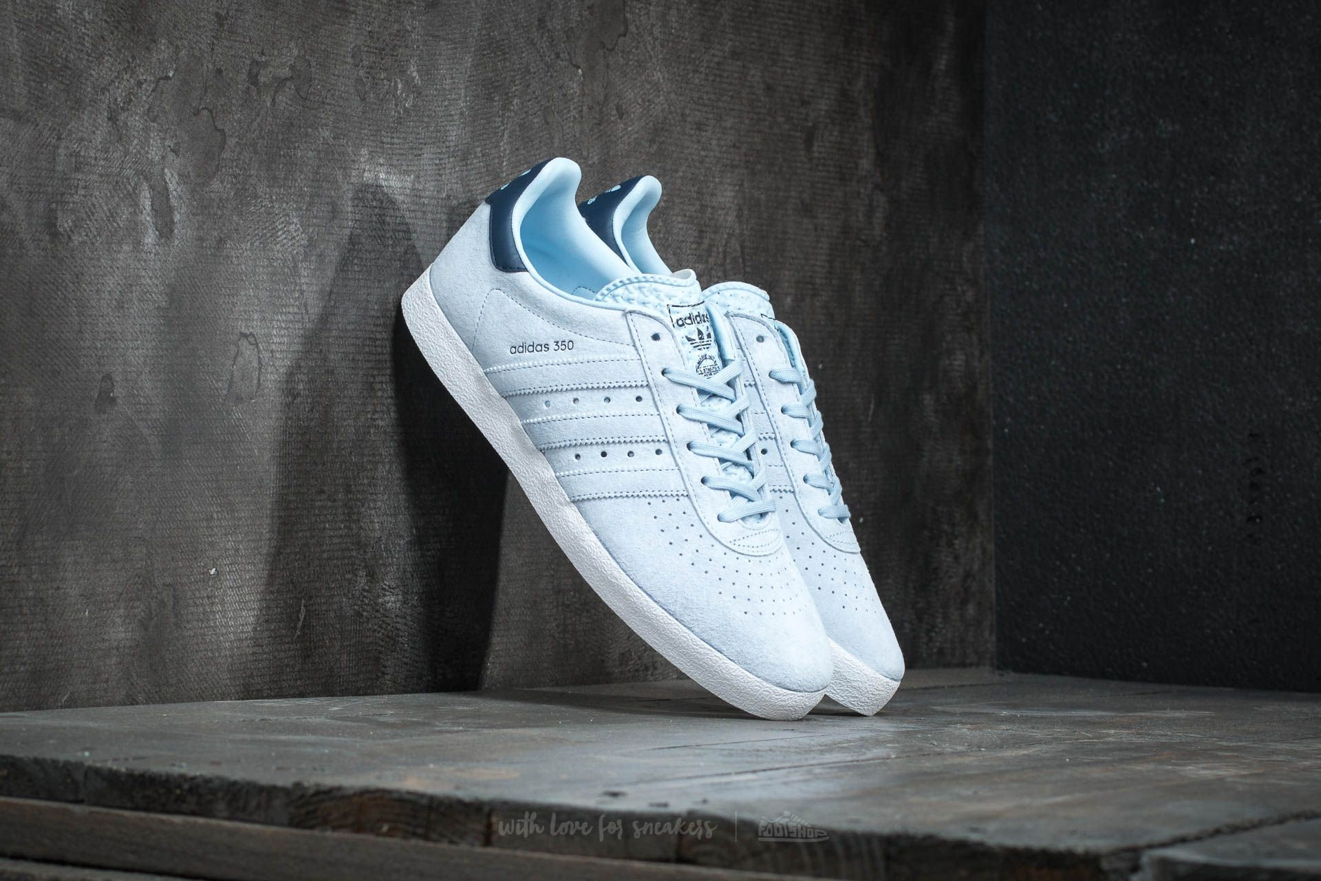 adidas 350 Easy Blue/ Easy Blue/ Collegiate Navy - 15840