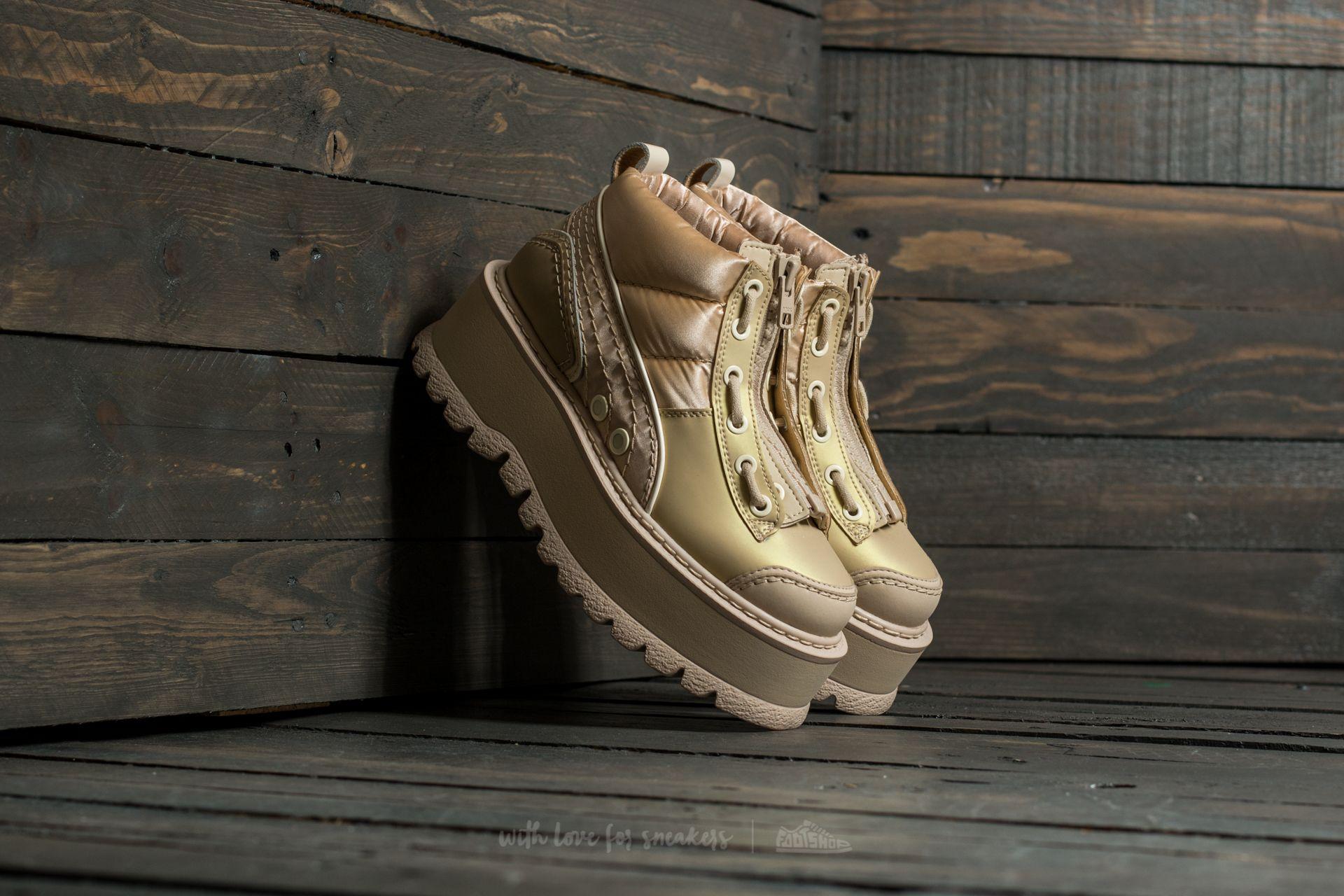 Puma FENTY Sneaker Boot Zip Wns Semolina-Smoke-Smoke - 16071
