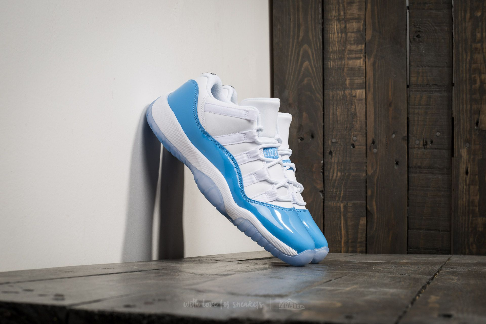 Air Jordan 11 Retro Low (BG) White/ University Blue - 16191