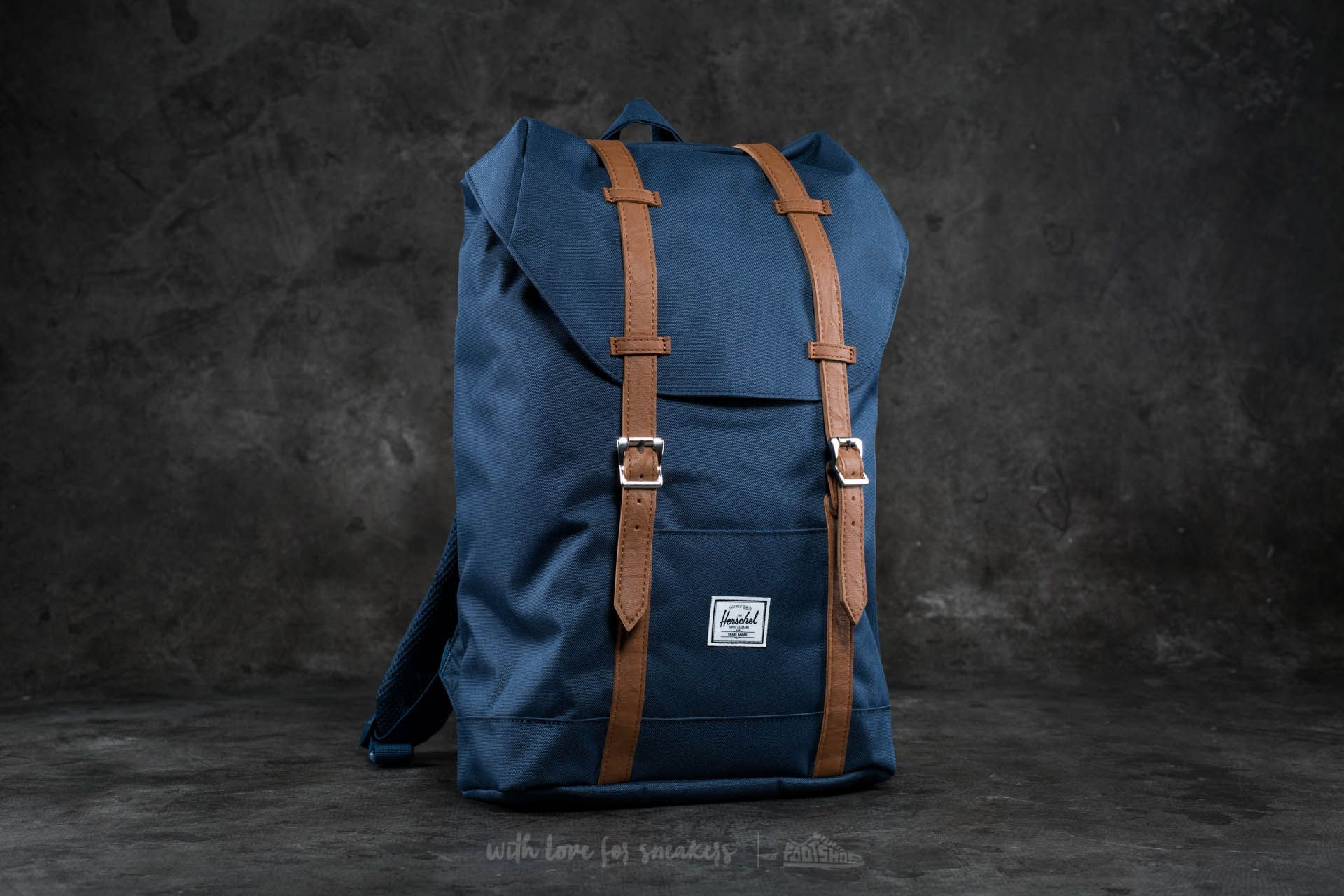 Herschel Supply Co. Retreat Mid-Volume Backpack Navy - 16645